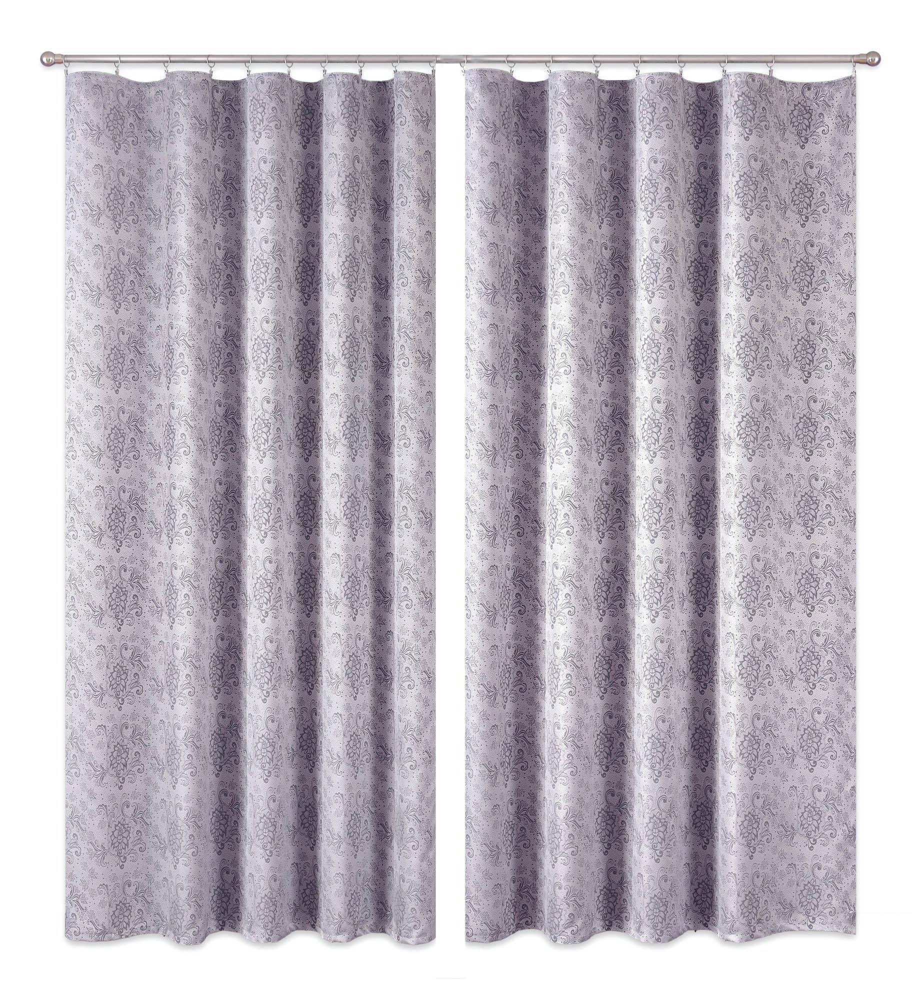 Шторы Primavera Классические шторы Mahalah Цвет: Серый шторы tac классические шторы winx цвет персиковый 200x265 см