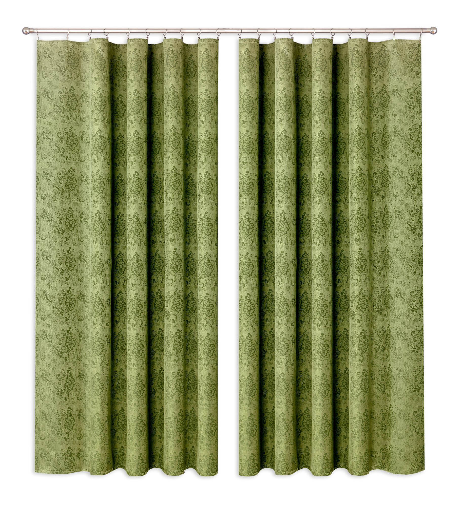 Шторы Primavera Классические шторы Mahalah Цвет: Зеленый шторы tac классические шторы winx цвет персиковый 200x265 см