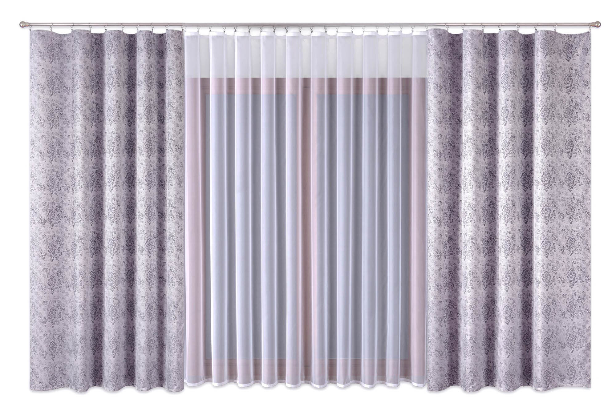 Шторы Primavera Классические шторы Mahalah Цвет: Серый шторы primavera классические шторы maev цвет персиковый