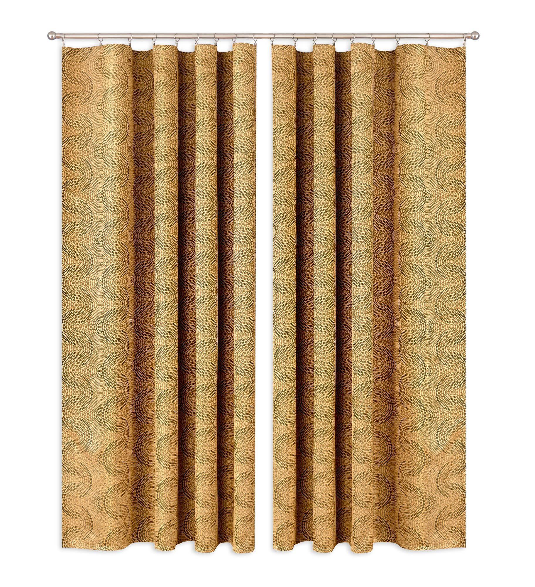 Шторы Primavera Классические шторы Delicia Цвет: Золотой шторы tac классические шторы winx цвет персиковый 200x265 см