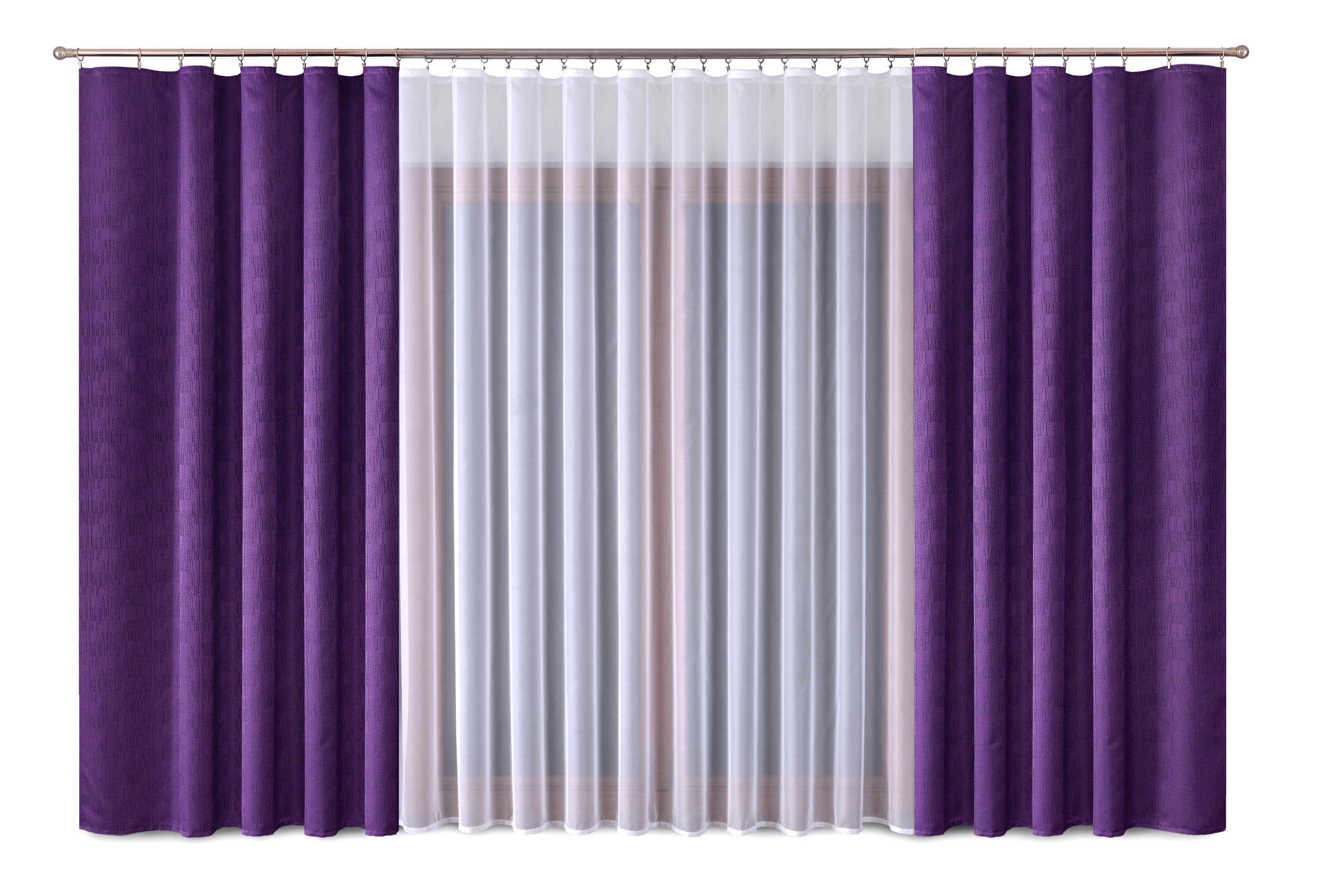 Шторы Primavera Классические шторы Alicia Цвет: Сиреневый шторы tac классические шторы winx цвет персиковый 200x265 см