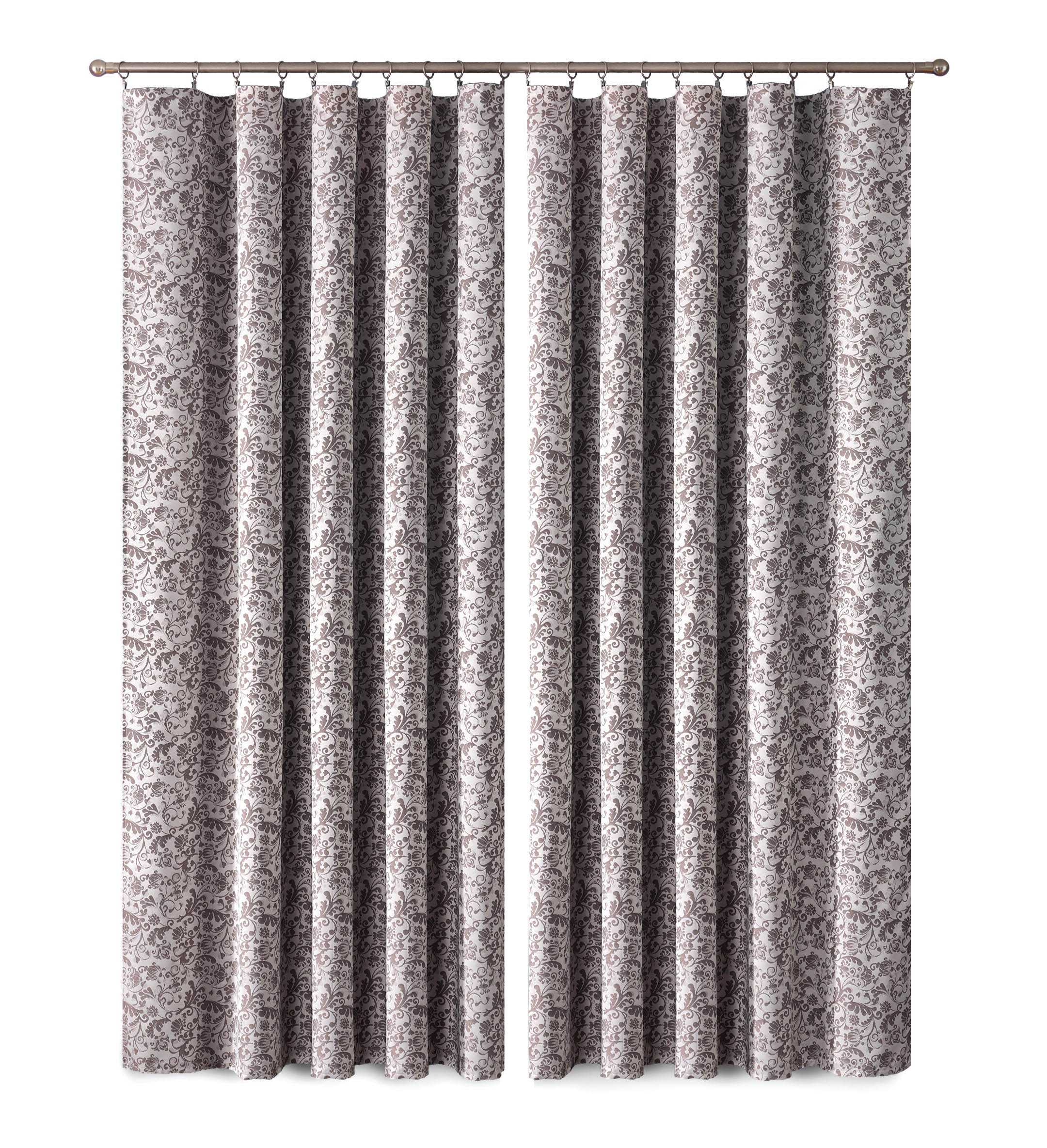 Шторы Primavera Классические шторы Posy Цвет: Коричневый шторы primavera классические шторы tilly цвет серый