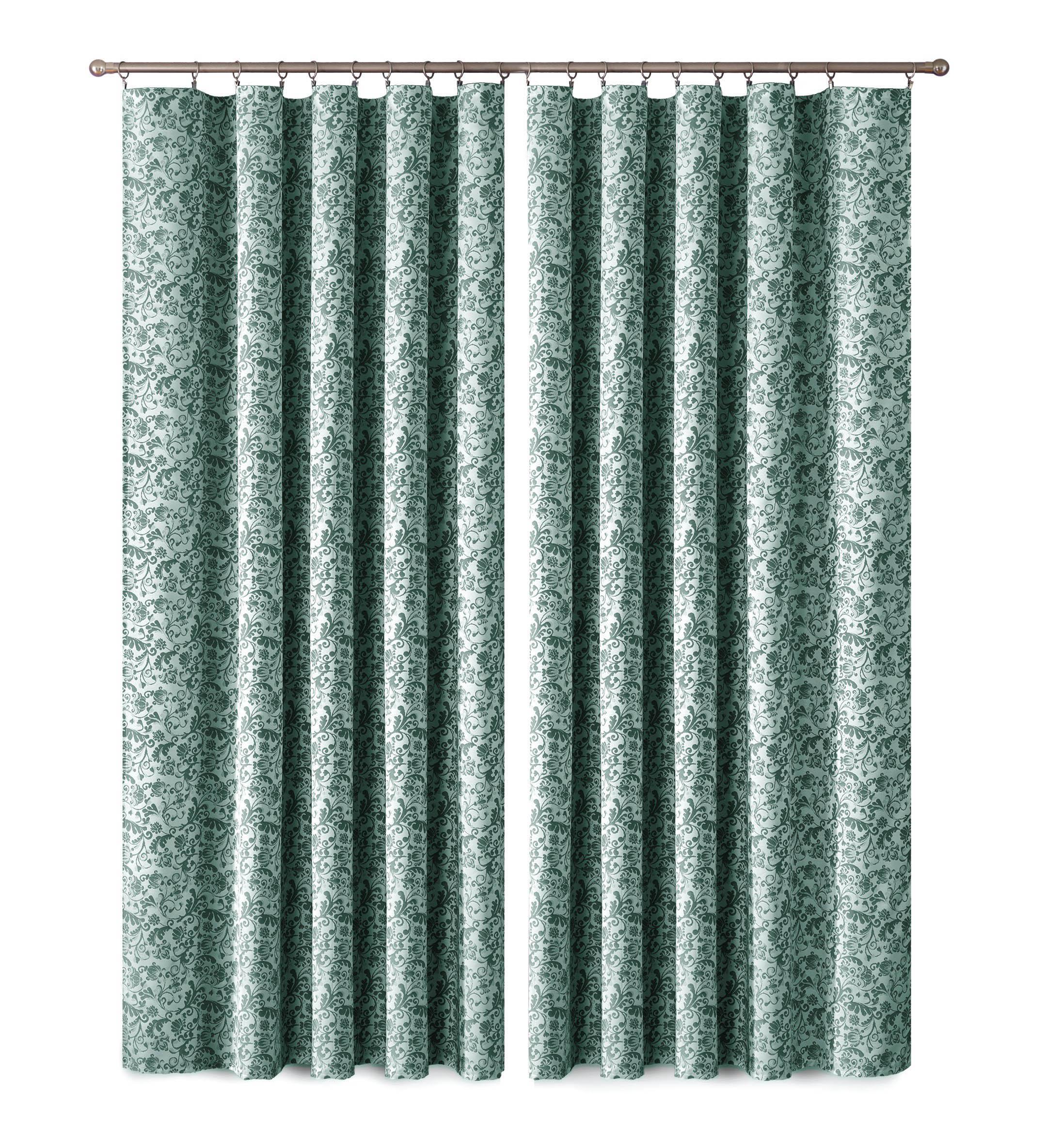 Шторы Primavera Классические шторы Posy Цвет: Зеленый-Белый шторы primavera классические шторы maev цвет салатовый
