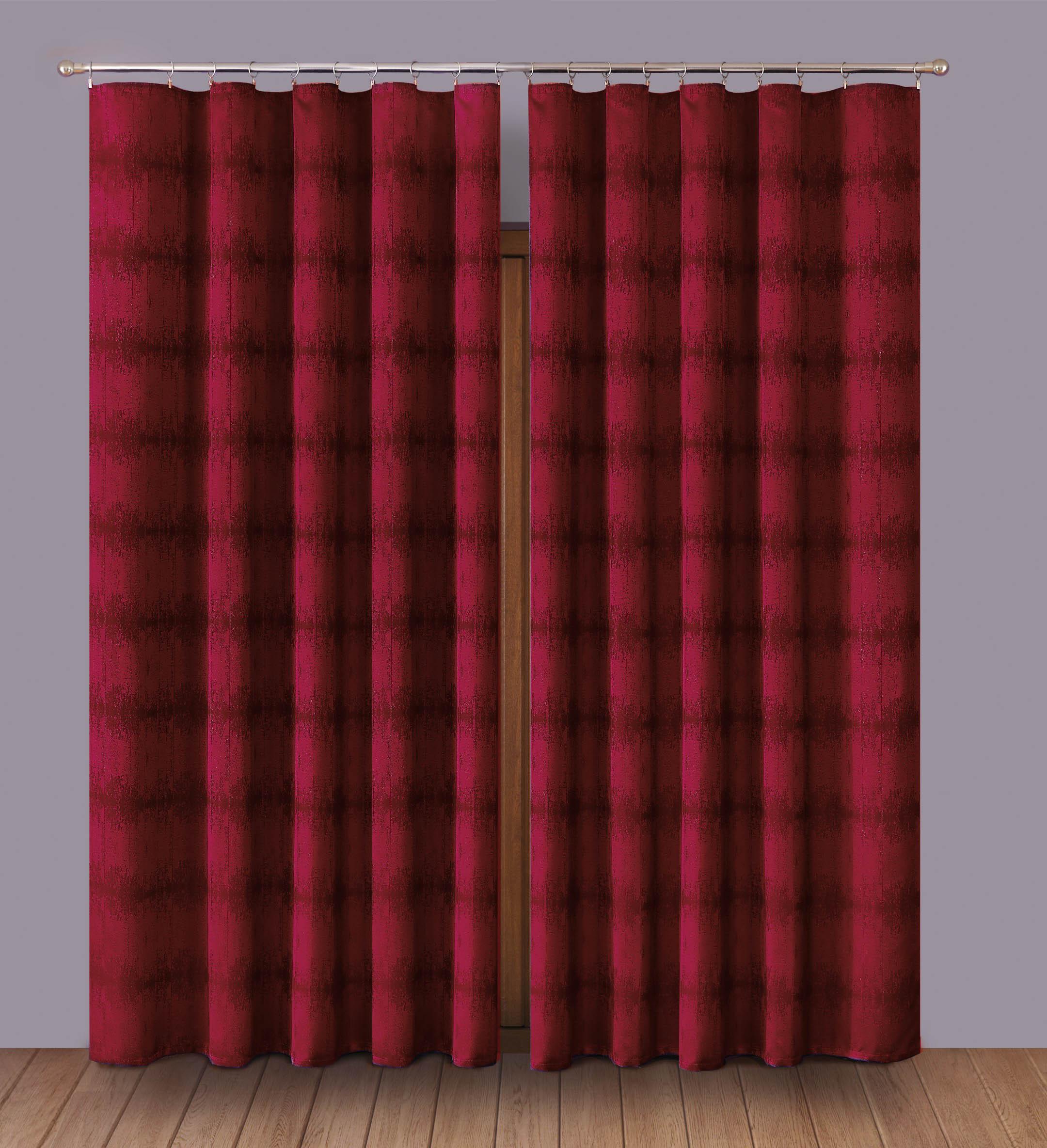 Шторы Primavera Классические шторы Caroline Цвет: Бордовый шторы primavera классические шторы maev цвет салатовый