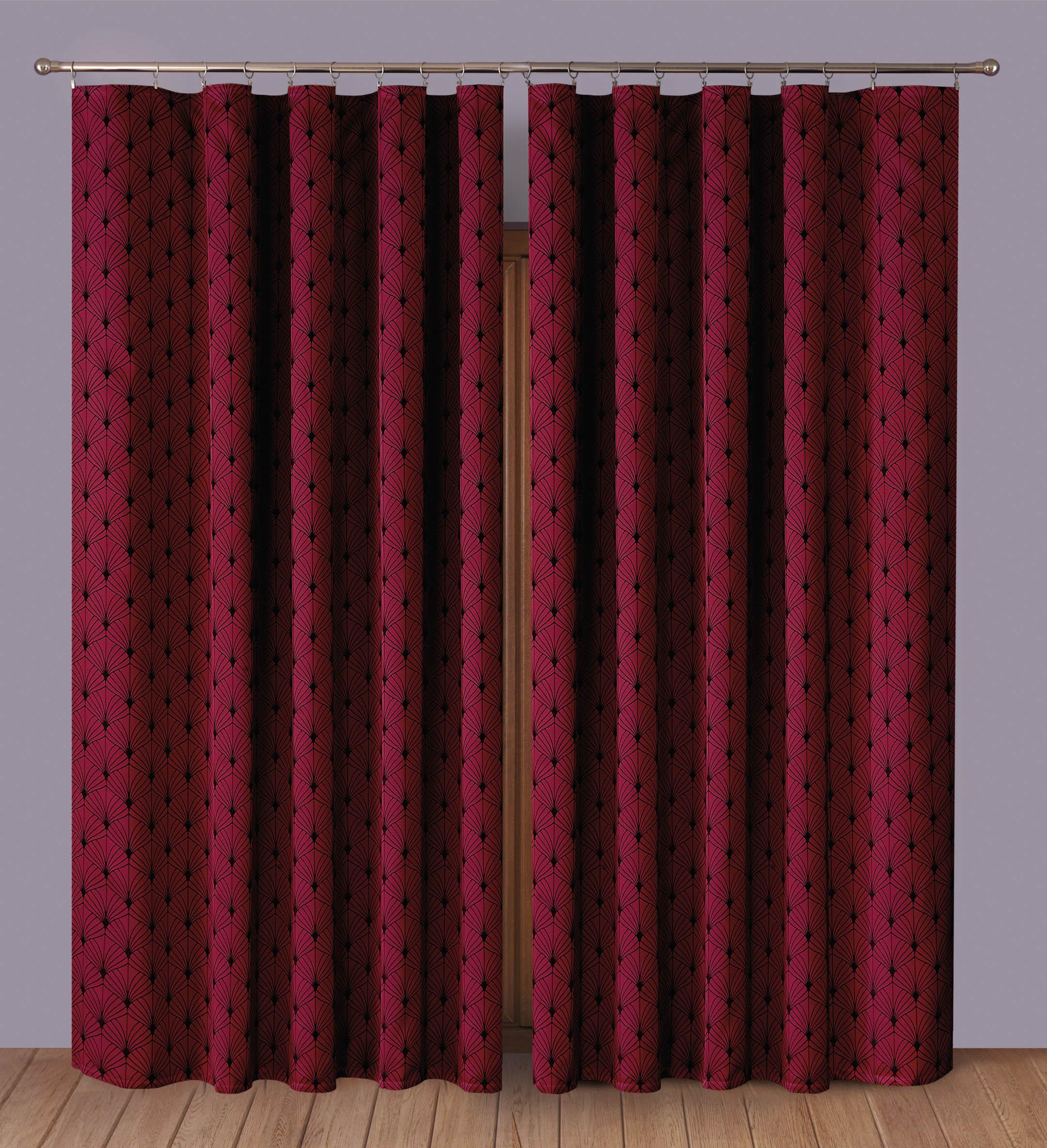Шторы Primavera Классические шторы Albertine Цвет: Бордовый шторы primavera классические шторы tilly цвет серый