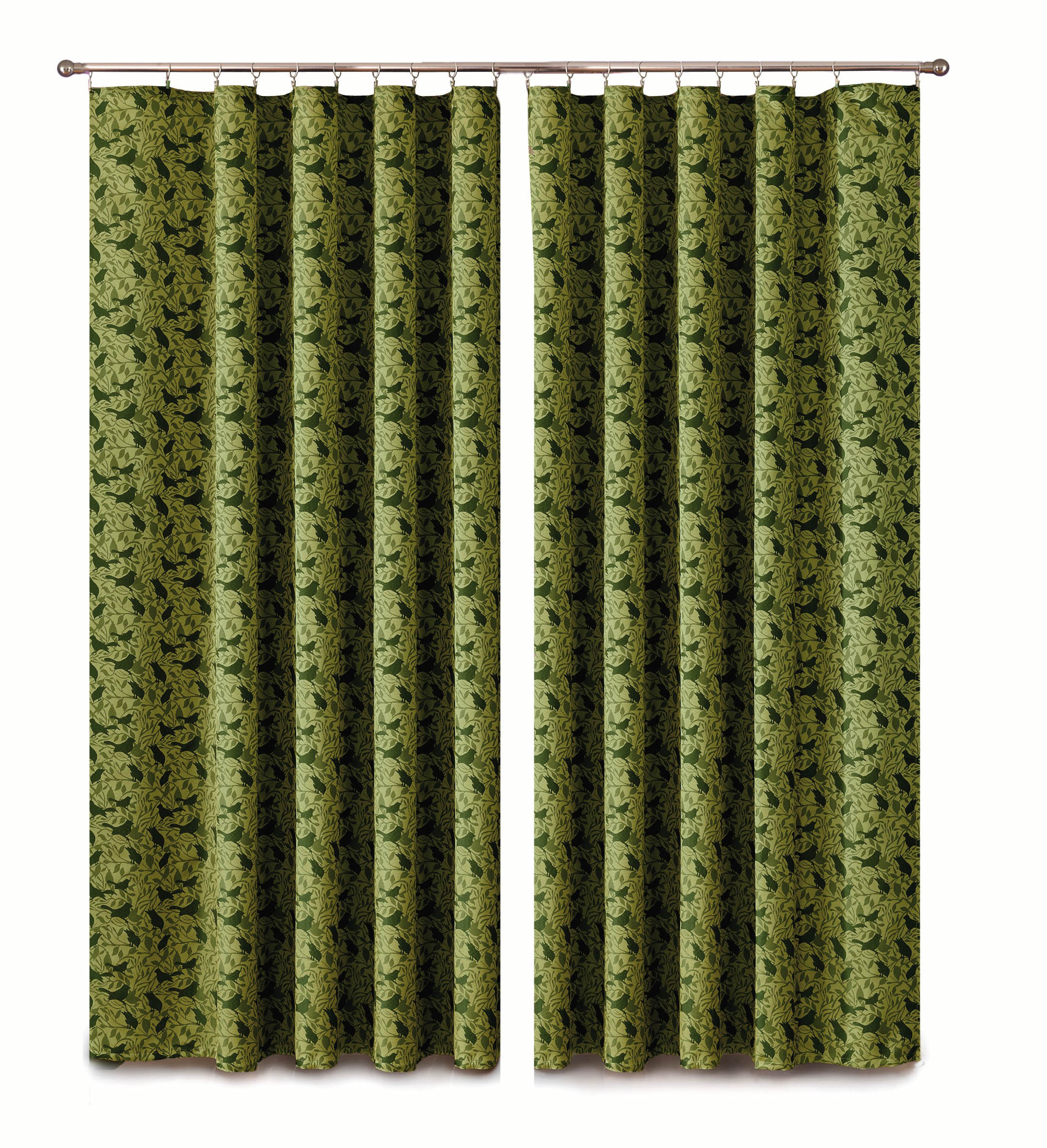 Шторы Primavera Классические шторы Paulina Цвет: Зеленый шторы primavera классические шторы tilly цвет серый