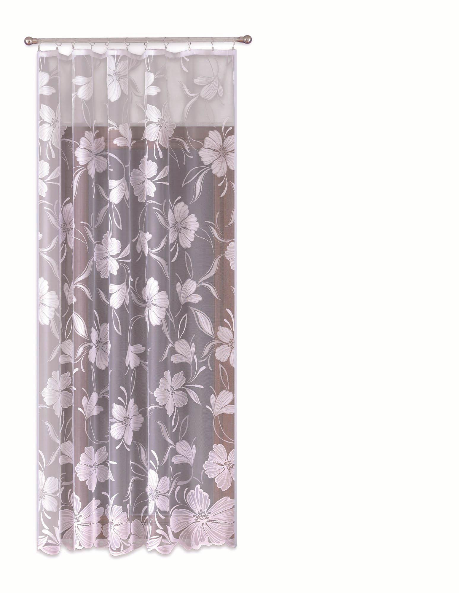Шторы Primavera Классические шторы Elly Цвет: Белый шторы kauffort классические шторы barolo