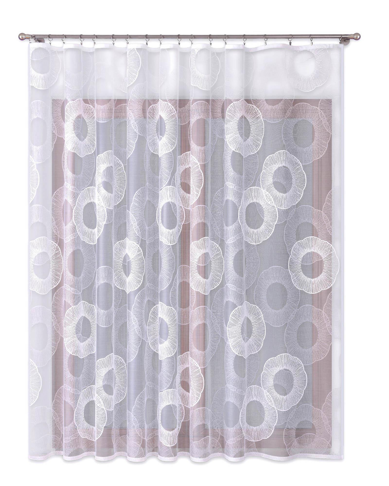 Шторы Primavera Классические шторы Golda Цвет: Белый шторы primavera классические шторы maev цвет белый