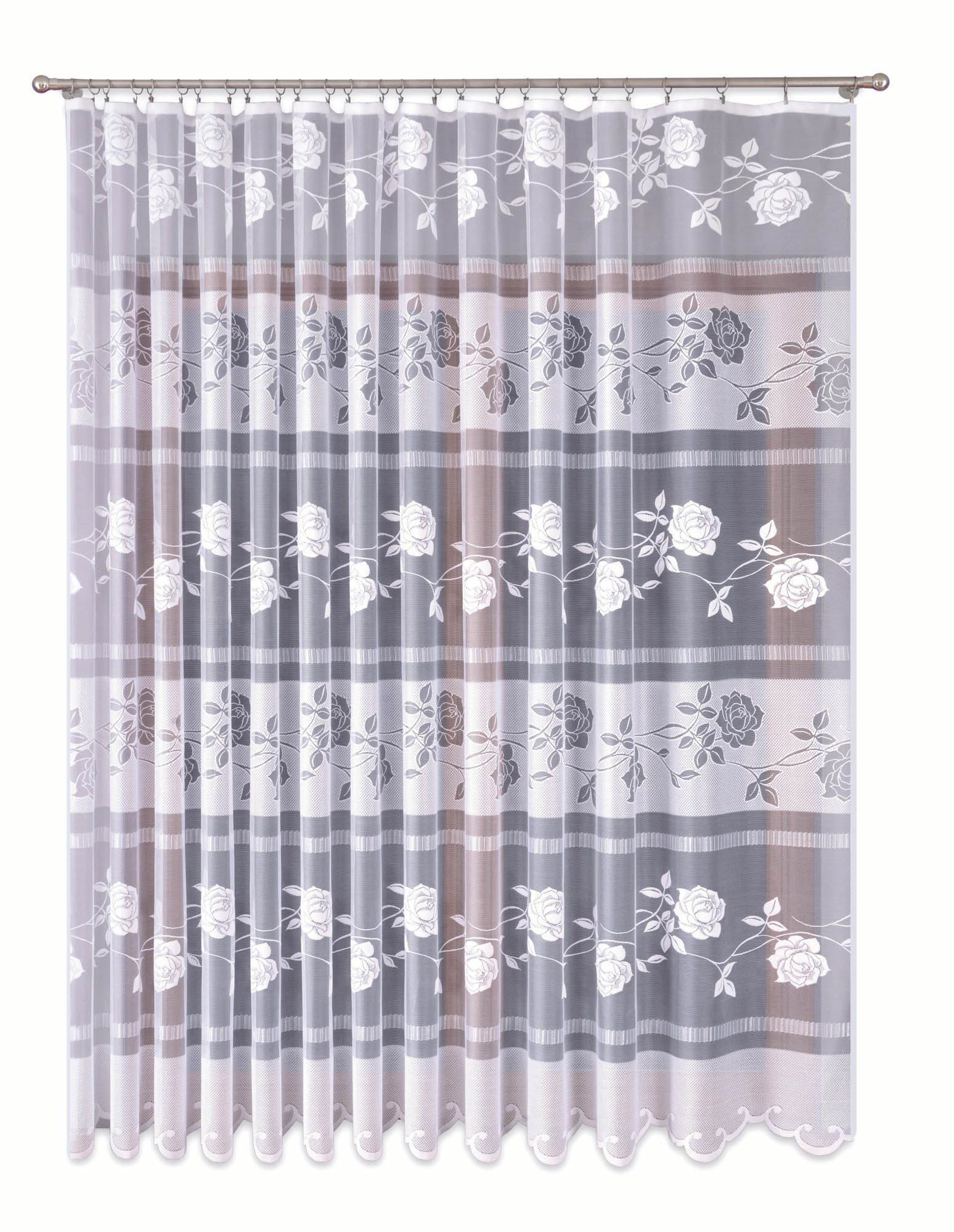 Шторы Primavera Классические шторы Darryl Цвет: Белый шторы primavera классические шторы didi цвет белый