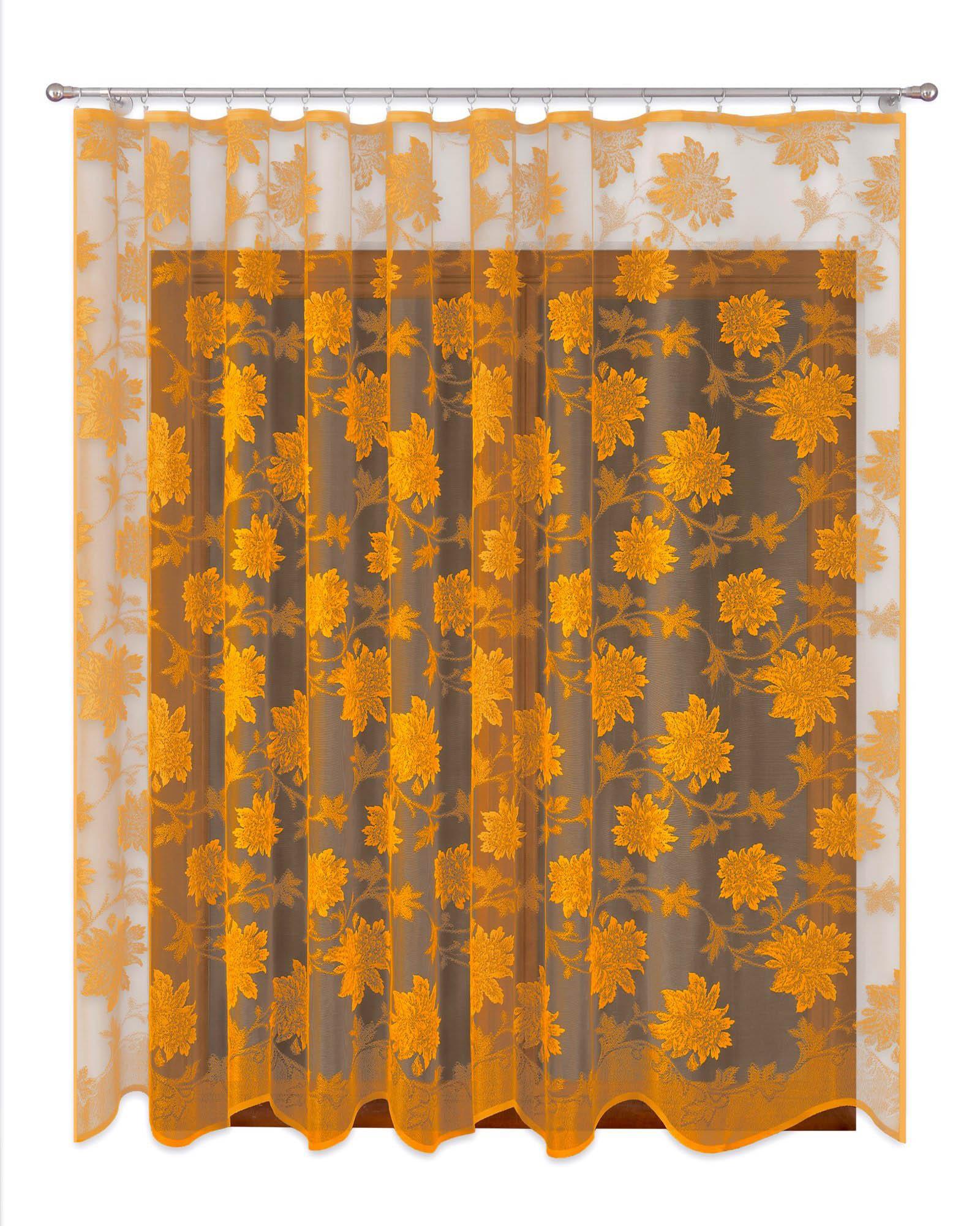 Шторы Primavera Классические шторы Kaylynn Цвет: Золотой шторы kauffort классические шторы primavera st цвет оранжевый
