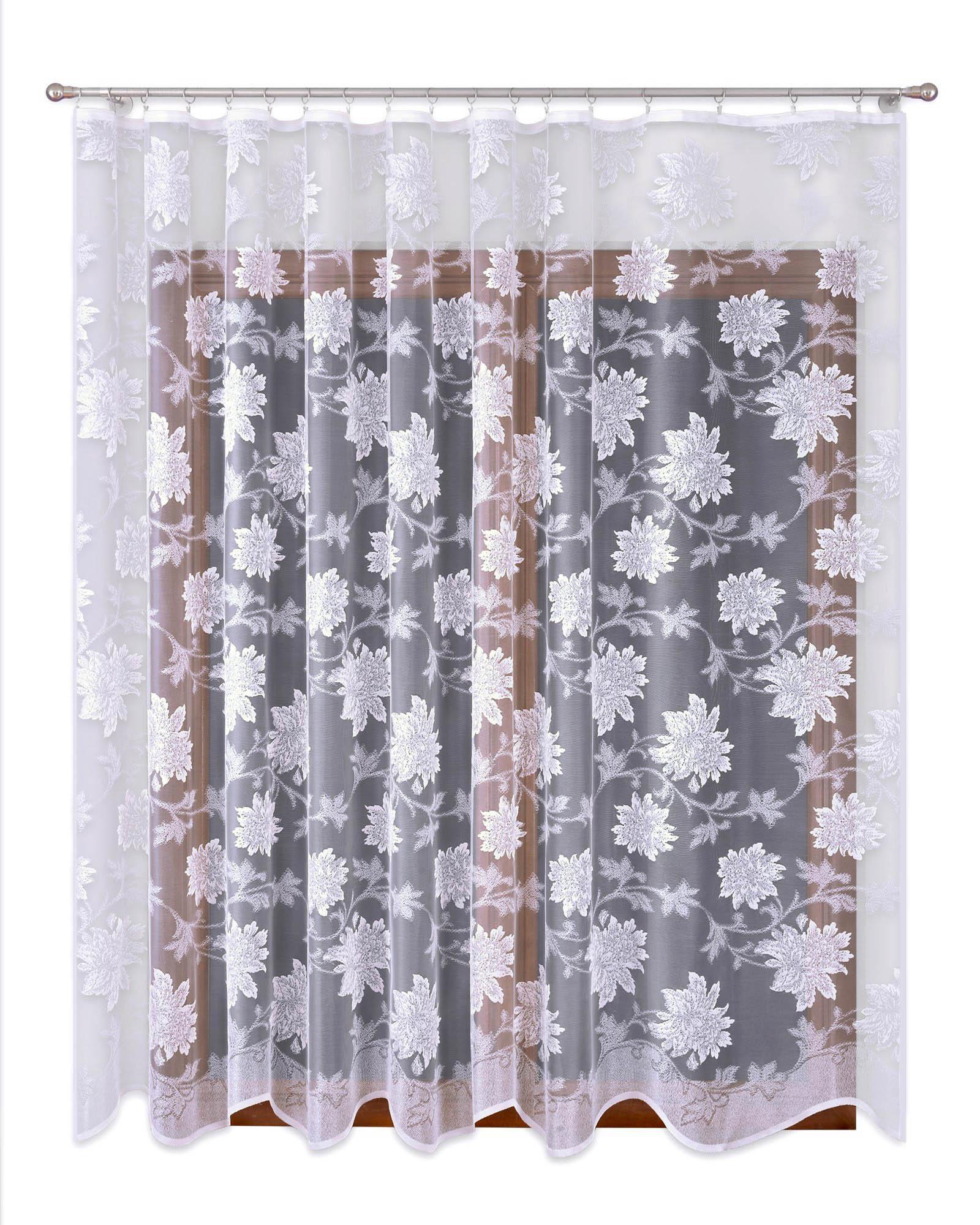 Шторы Primavera Классические шторы Kaylynn Цвет: Белый шторы tac классические шторы winx цвет персиковый 200x265 см