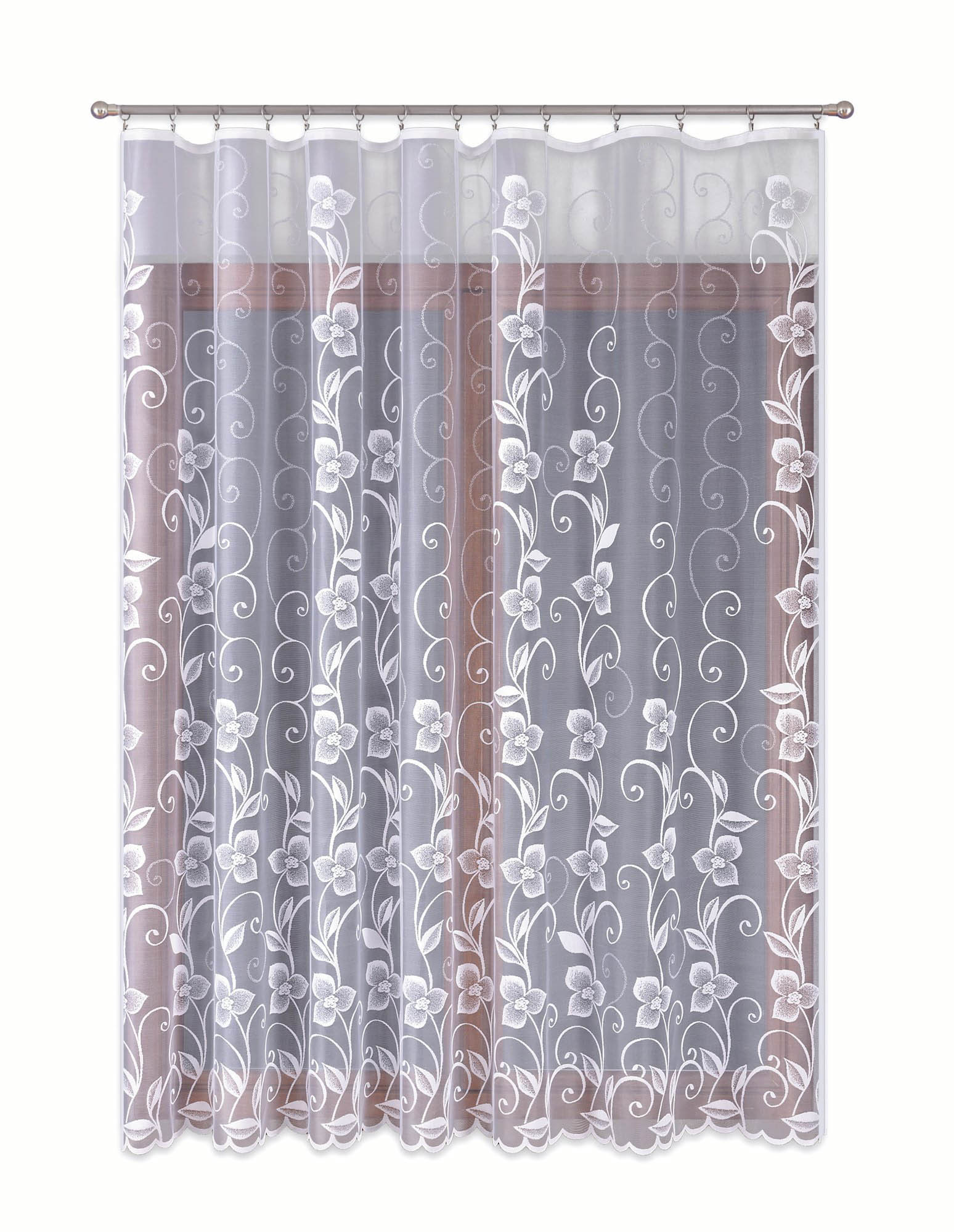 Шторы Primavera Классические шторы Lennon Цвет: Белый шторы primavera классические шторы caroline цвет сиреневый