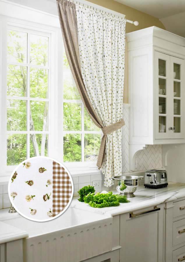Шторы Kauffort Классические шторы Karen Цвет: Бежевый шторы kauffort классические шторы barolo