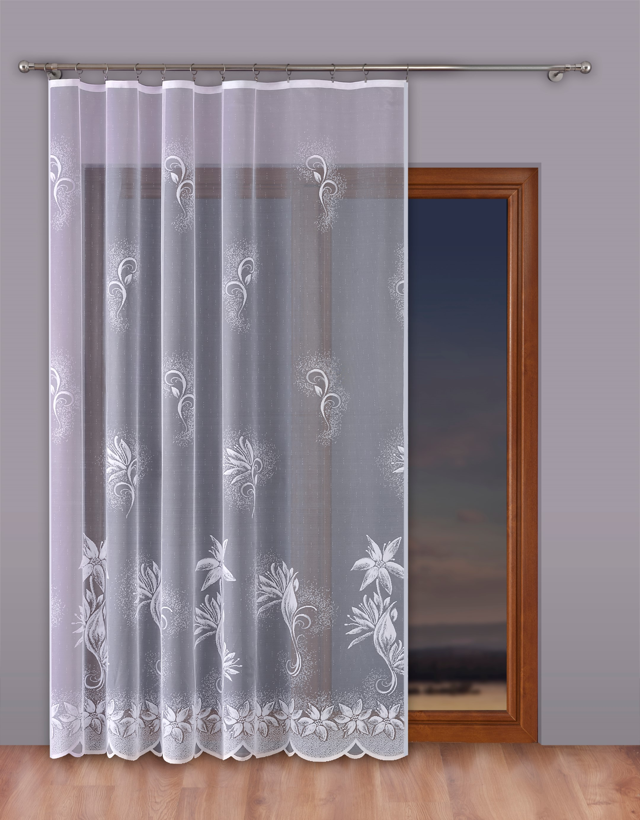 Шторы Primavera Классические шторы Moise Цвет: Белый шторы primavera классические шторы maev цвет салатовый