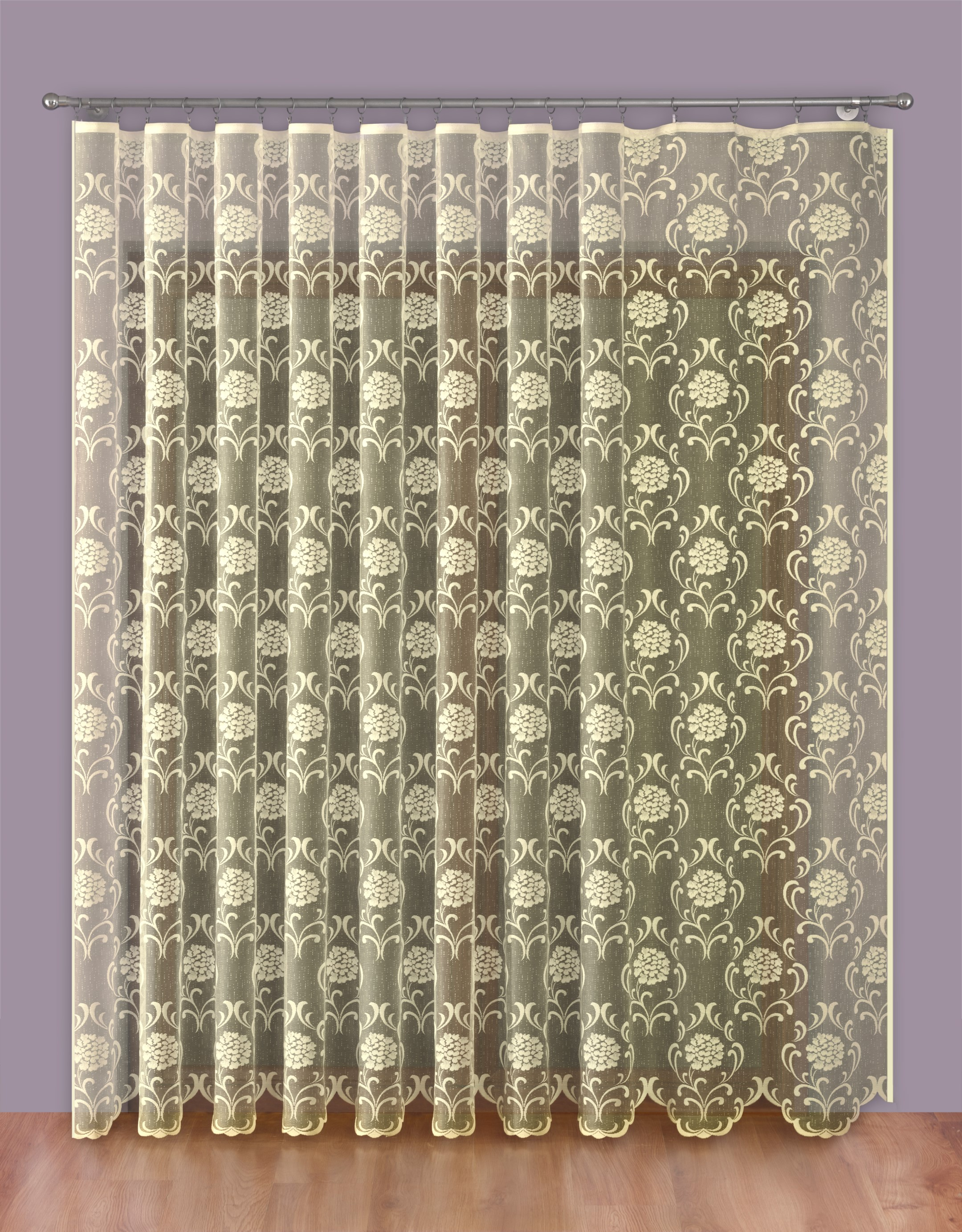 Шторы Primavera Классические шторы Larry Цвет: Кремовый шторы primavera классические шторы ballard цвет персиковый