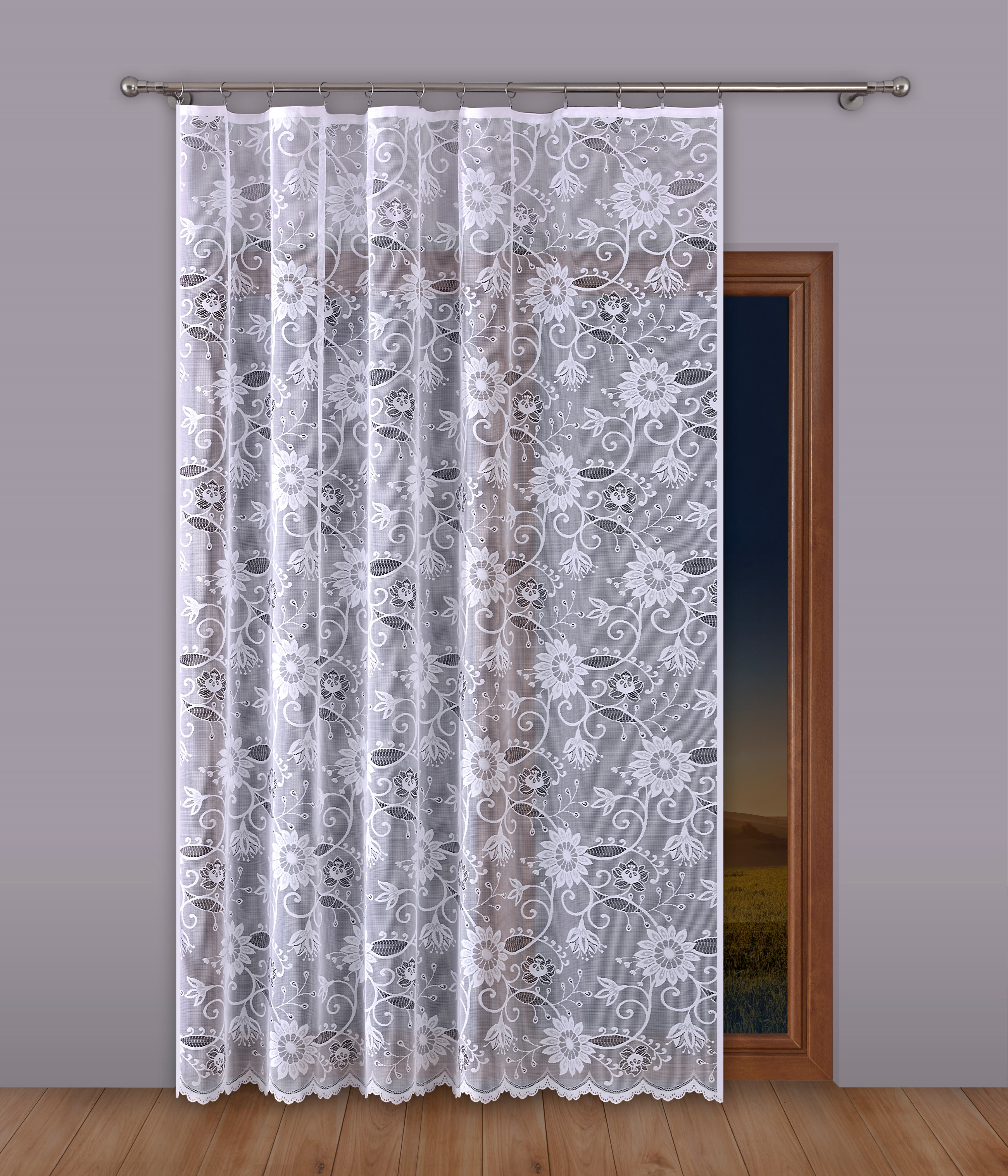Шторы Primavera Классические шторы Beelzebub Цвет: Белый шторы kauffort классические шторы barolo