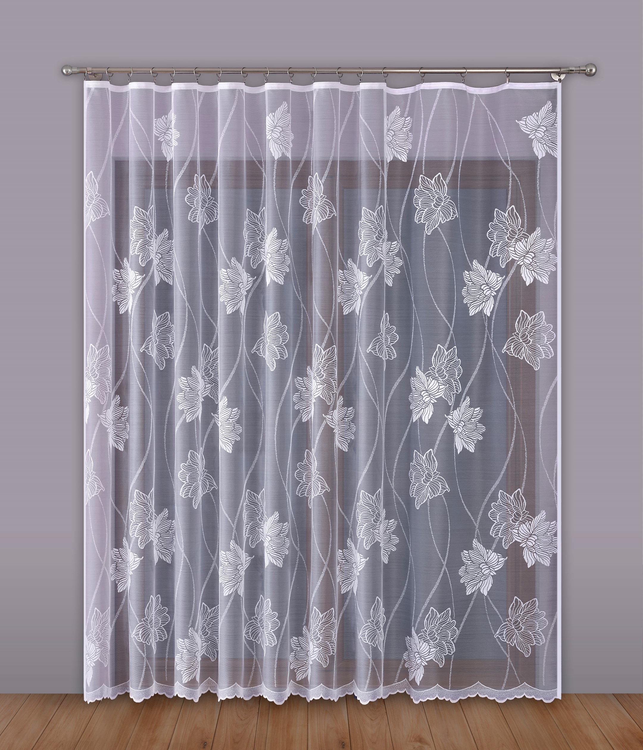 Шторы Primavera Классические шторы Thyrza Цвет: Белый шторы kauffort классические шторы barolo