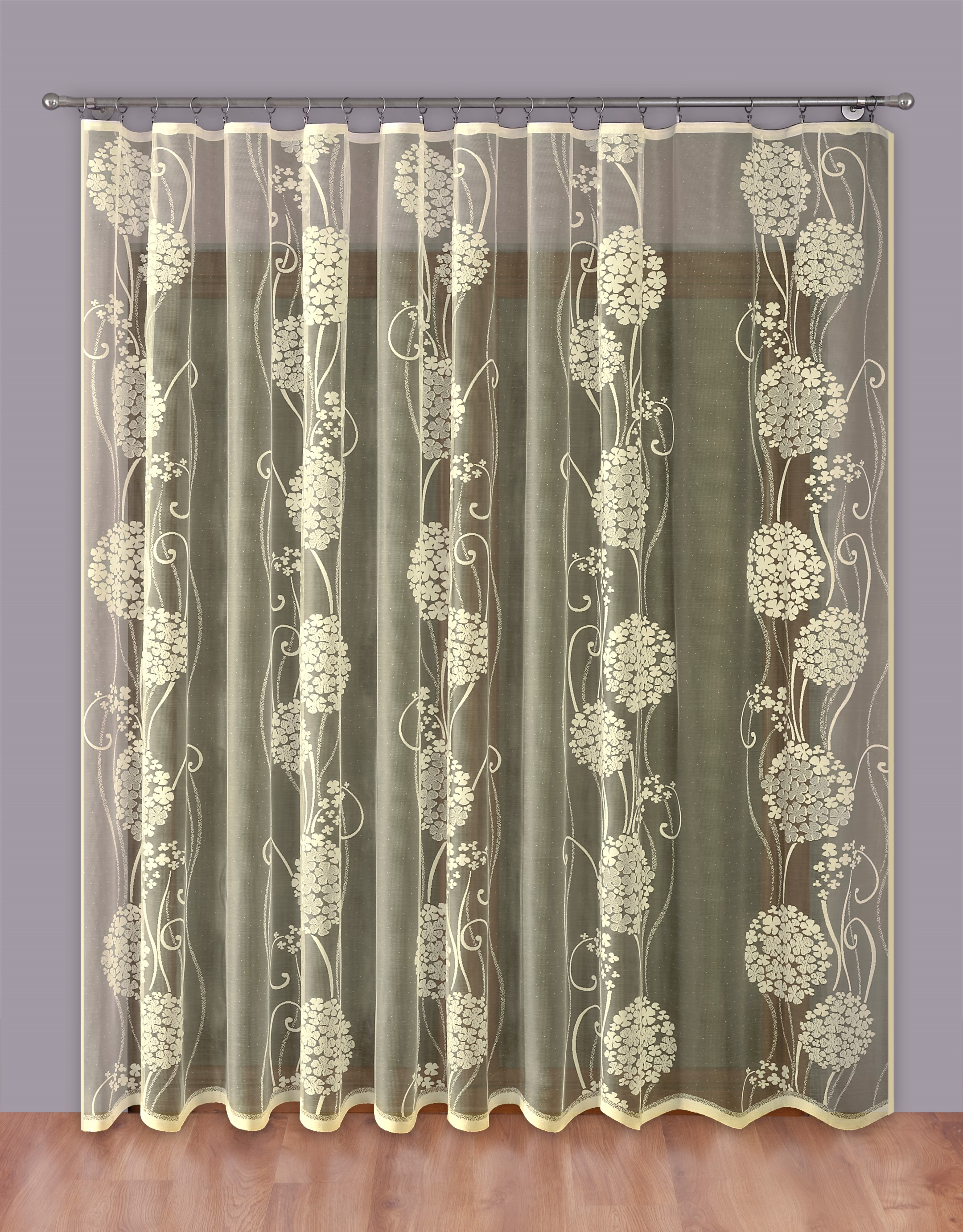 Шторы Primavera Классические шторы Cohen Цвет: Кремовый шторы kauffort классические шторы barolo