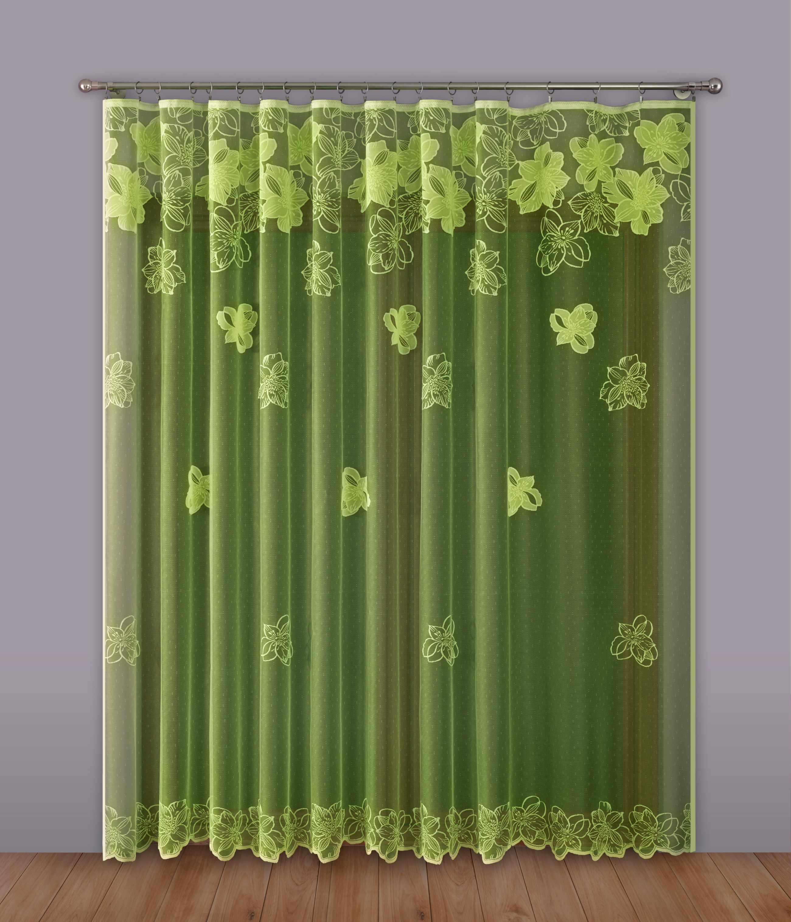 Шторы Primavera Классические шторы Maev Цвет: Салатовый шторы primavera классические шторы caroline цвет сиреневый