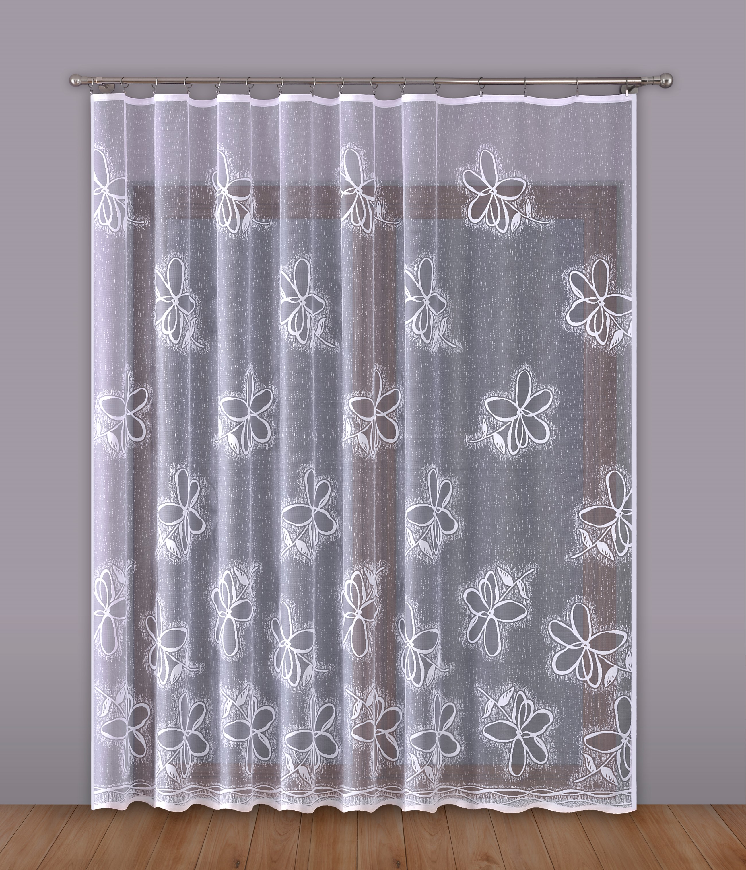 Шторы Primavera Классические шторы Ballard Цвет: Белый шторы primavera классические шторы caroline цвет сиреневый