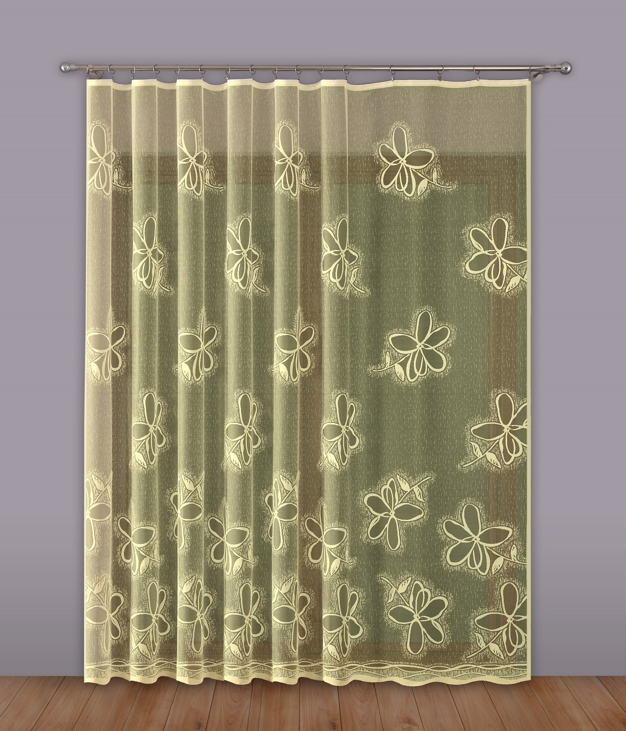 Шторы Primavera Классические шторы Ballard Цвет: Кремовый шторы primavera классические шторы caroline цвет сиреневый