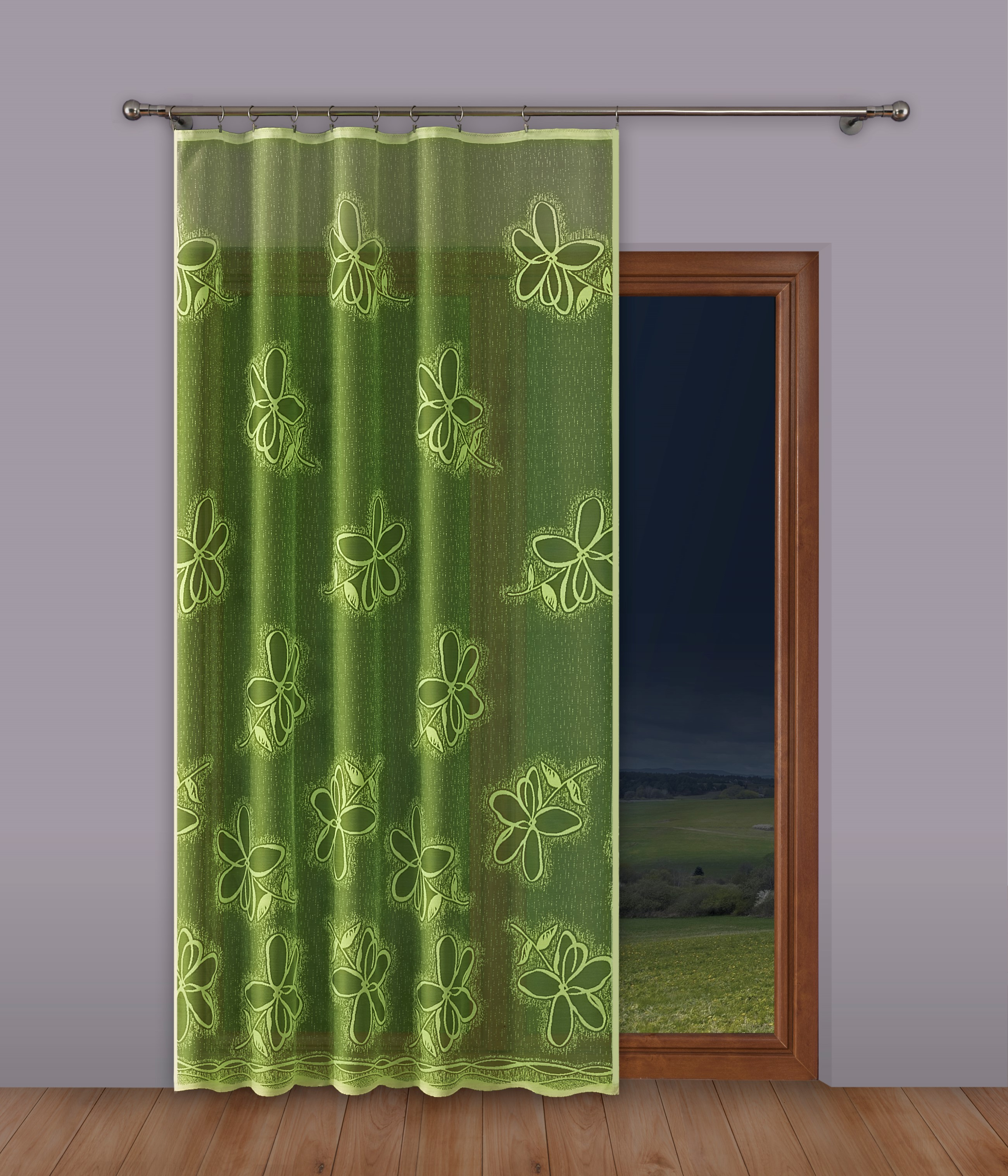 Шторы Primavera Классические шторы Ballard Цвет: Салатовый шторы primavera классические шторы caroline цвет сиреневый