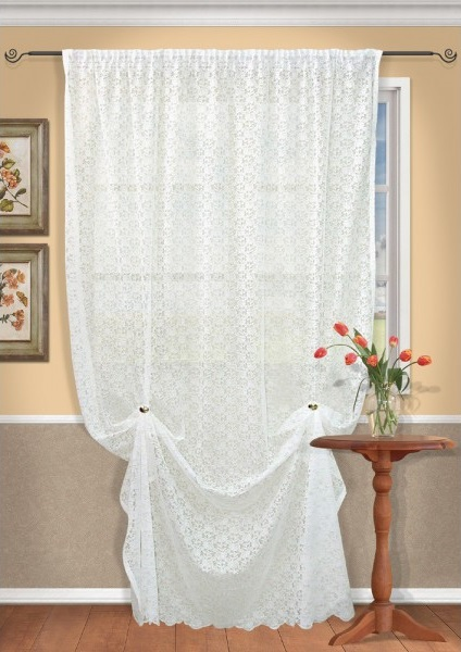 Шторы Kauffort Классические шторы Lady-XL как тюль на окно