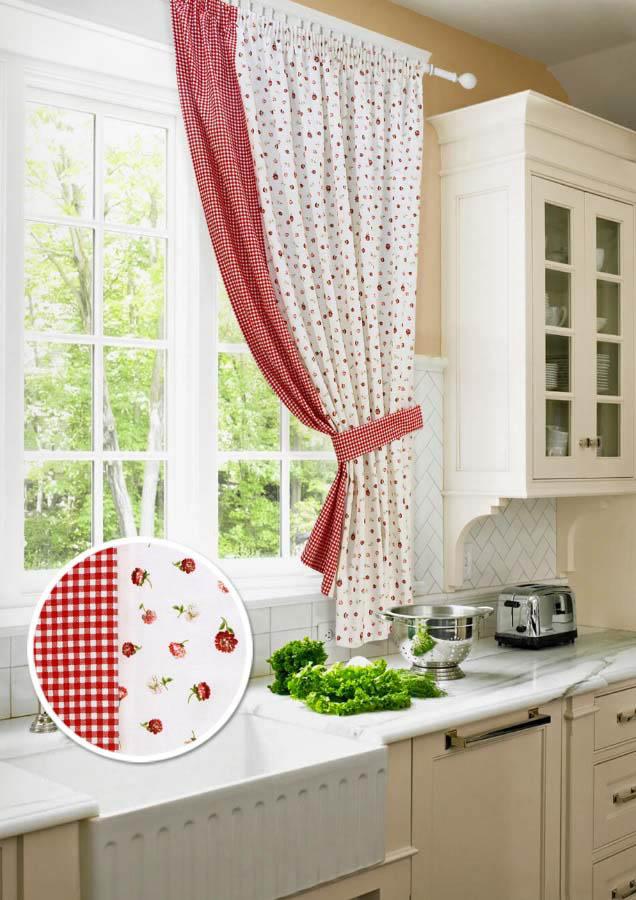 Шторы Kauffort Классические шторы Karen Цвет: Красный шторы kauffort классические шторы kimberly s цвет красный