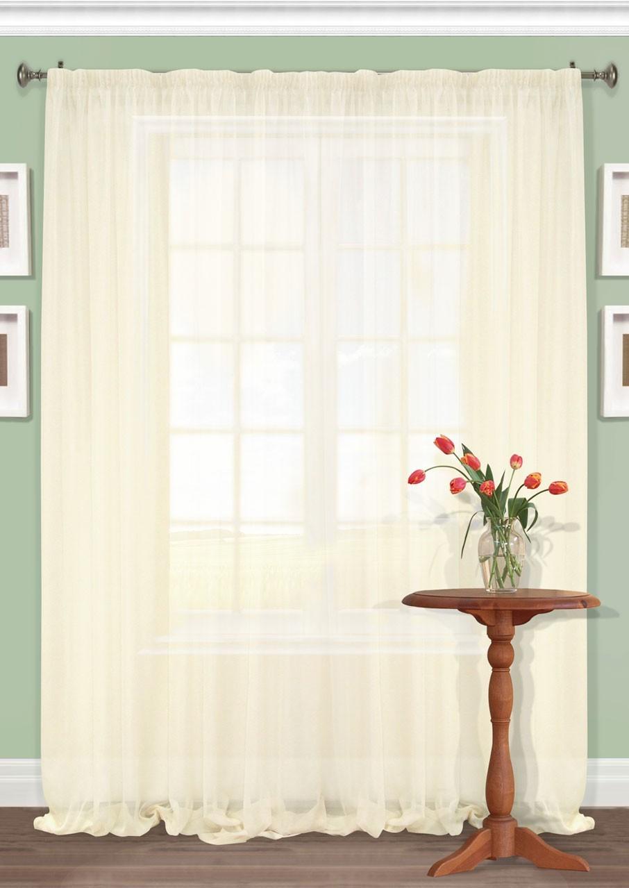 Шторы Kauffort Классические шторы Nina Цвет: Светло-Бежевый шторы kauffort классические шторы karen s цвет бежевый