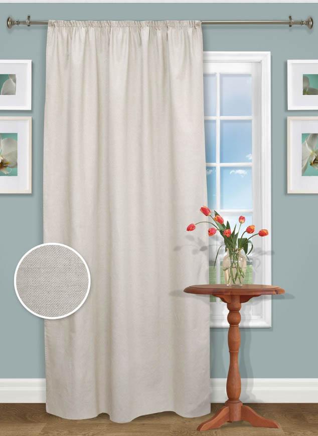 Шторы Kauffort Классические шторы Sanzay Loneta - XL шторы kauffort классические шторы cresh xl цвет шампань