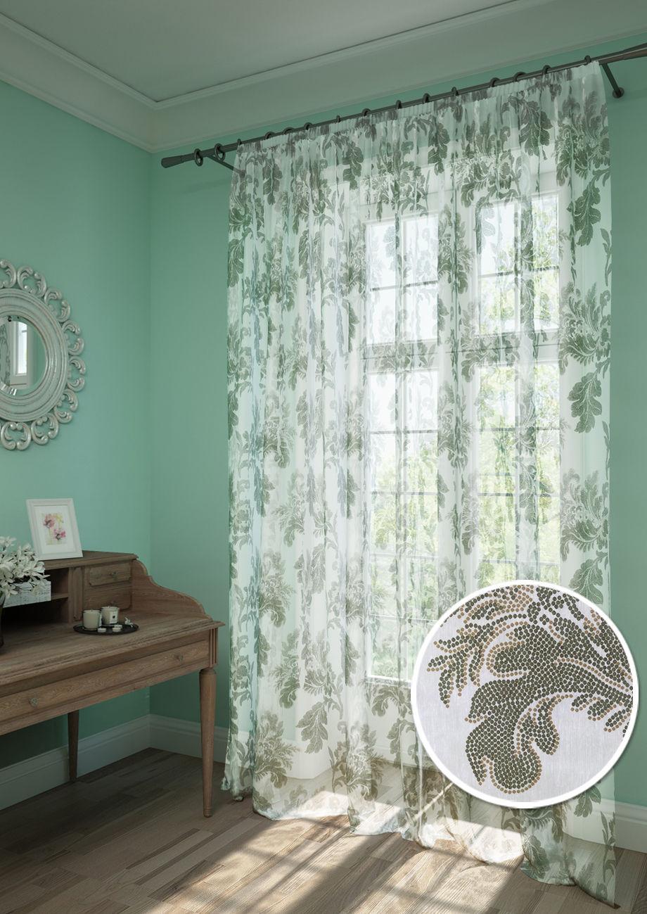 Шторы Kauffort Классические шторы Plumage - XL Цвет: Коричневый шторы kauffort классические шторы cresh xl цвет шампань