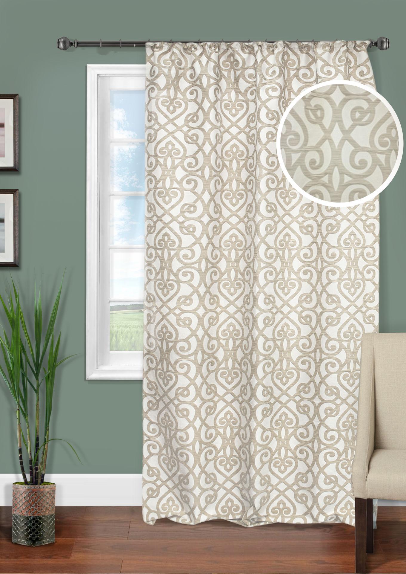 Шторы Kauffort Классические шторы Janice Цвет: Светло-Бежевый шторы primavera классические шторы maev цвет персиковый