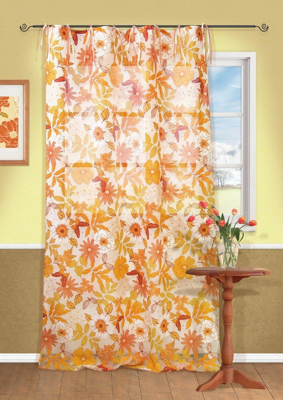 Шторы Kauffort Классические шторы Rumba-M Цвет: Оранжевый шторы kauffort классические шторы primavera st цвет оранжевый