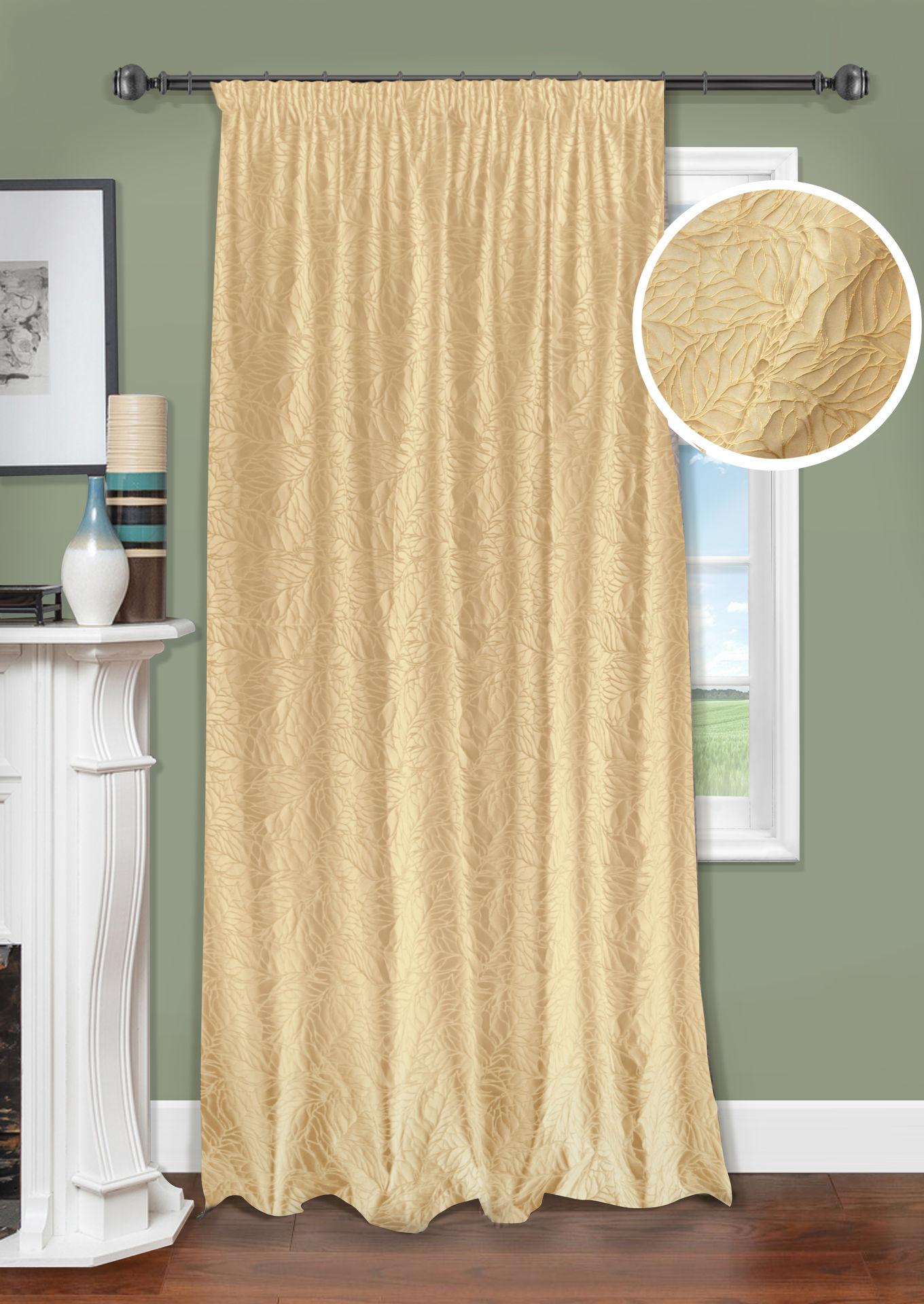 Шторы Kauffort Классические шторы Ariel Цвет: Золотой шторы kauffort классические шторы barolo