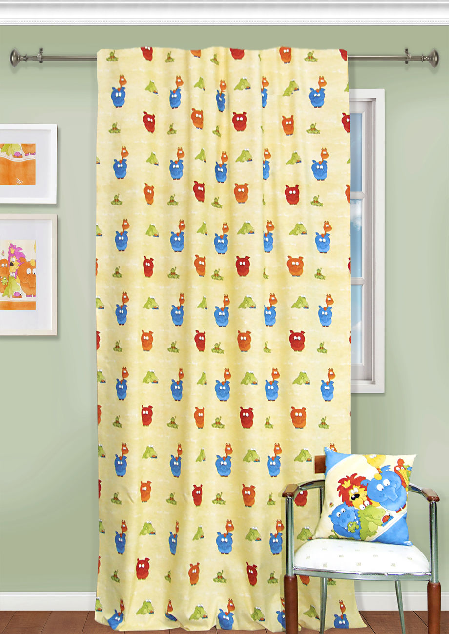 Шторы Kauffort Классические шторы Lion King Цвет: Желтый шторы интерьерные kauffort штора provence k на тесьме 136х175