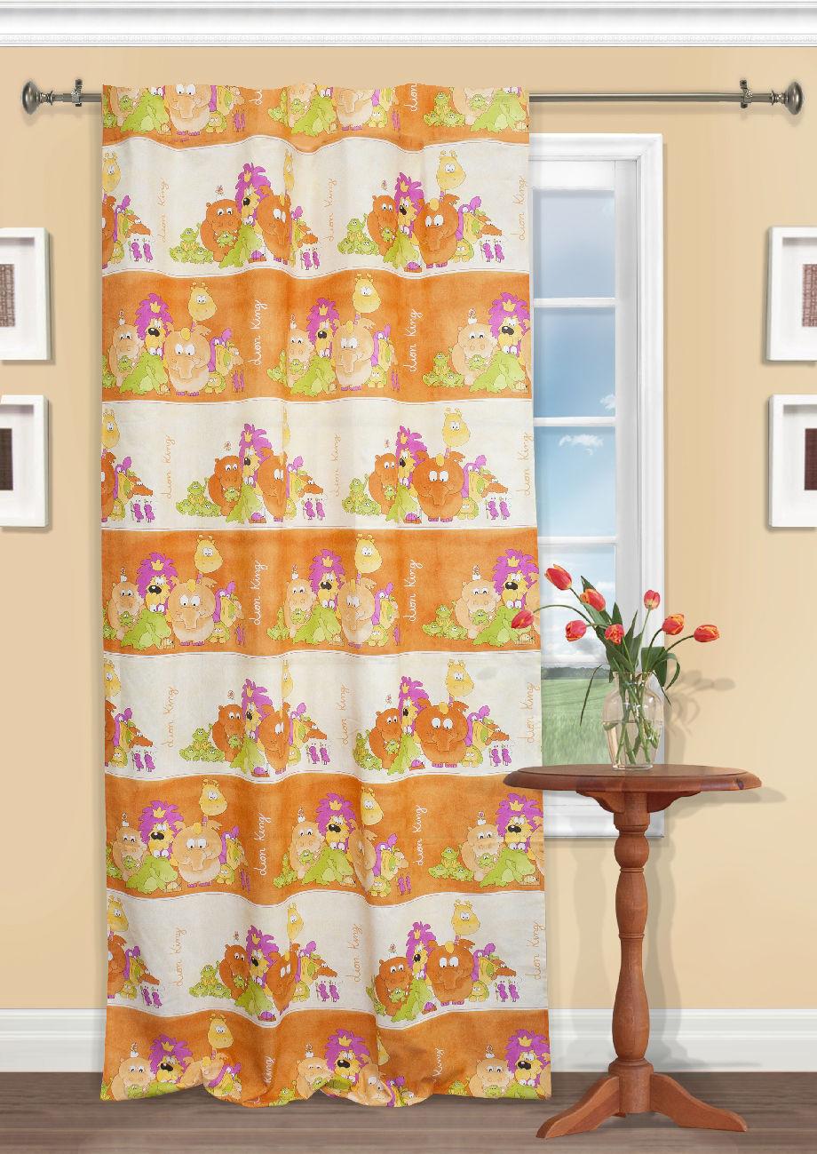 Шторы Kauffort Классические шторы Lion King Цвет: Оранжевый шторы primavera классические шторы maev цвет персиковый