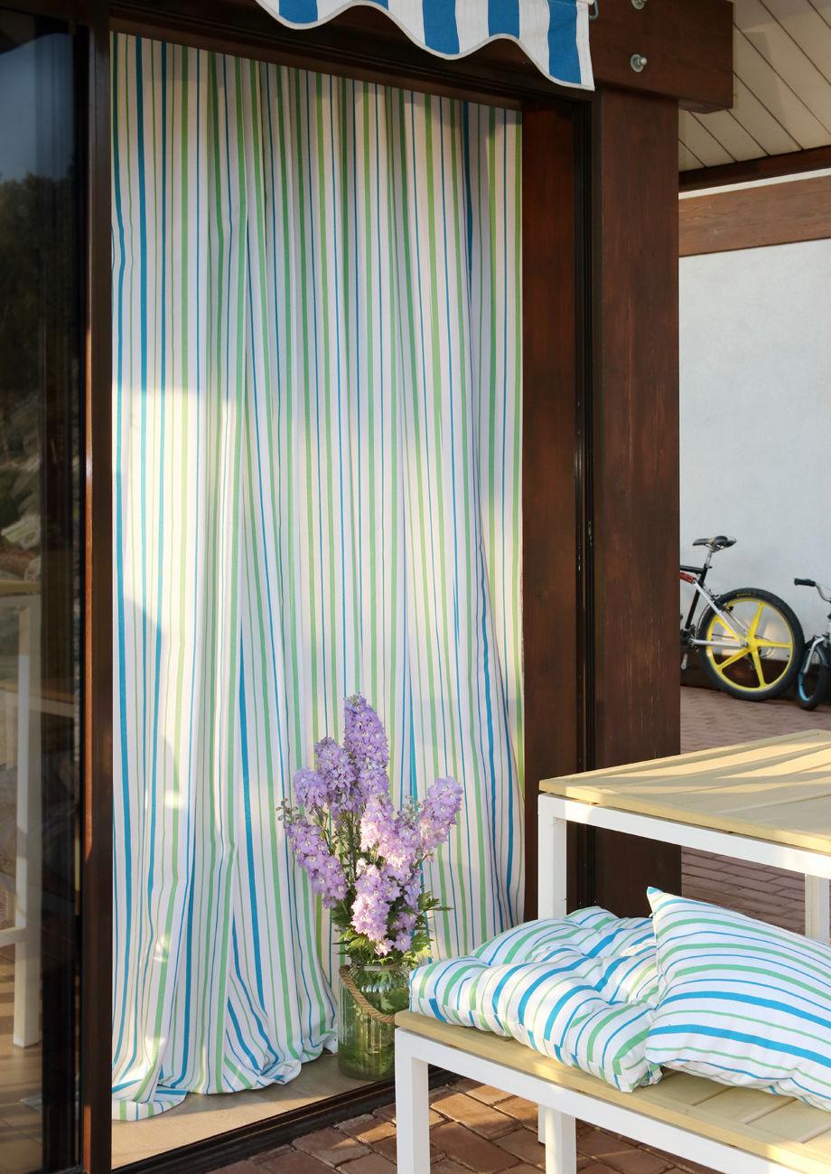 Шторы Kauffort Классические шторы Rain Цвет: Небесно-Голубой шторы интерьерные kauffort штора на тесьме sea star 136х270 см с подхватом