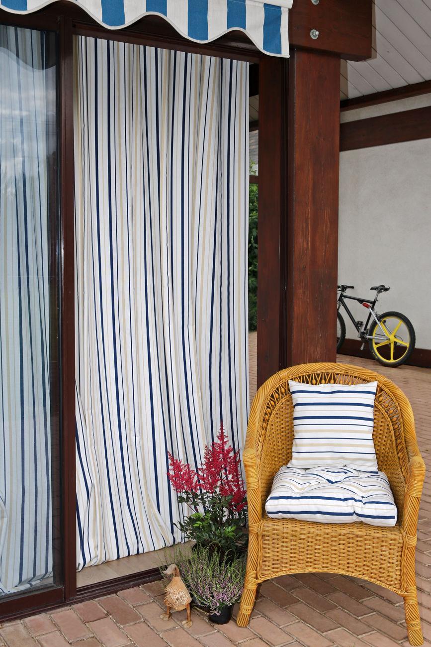 Шторы Kauffort Классические шторы Rain Цвет: Синий шторы kauffort классические шторы barolo