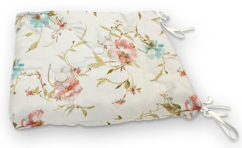 Подушки на стул Kauffort Подушка на стул Margot Цвет: Розовый (40х40) подушка на стул арти м райский сад