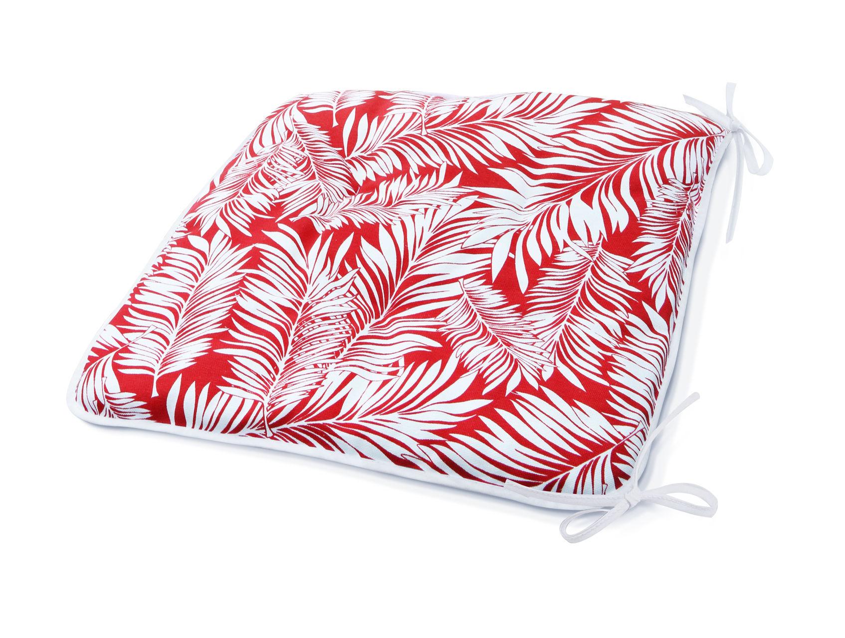 Подушки на стул Kauffort Подушка на стул Palma Цвет: Красный (40х40) kauffort подушка на стул нosta цвет бордово фиолетовый 40х40