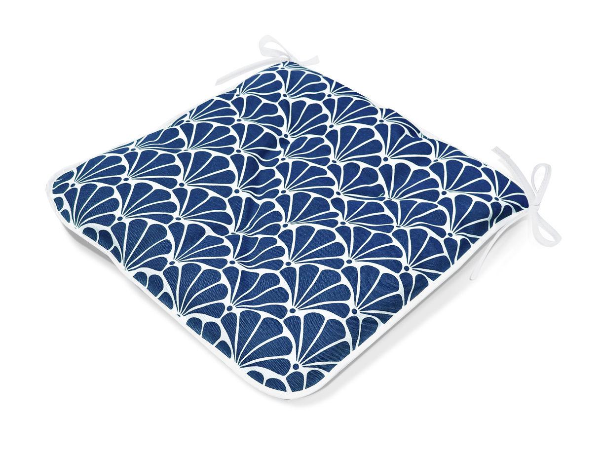 Подушки на стул Kauffort Подушка на стул Garden Цвет: Голубой (40х40) штора легкая kauffort barolo