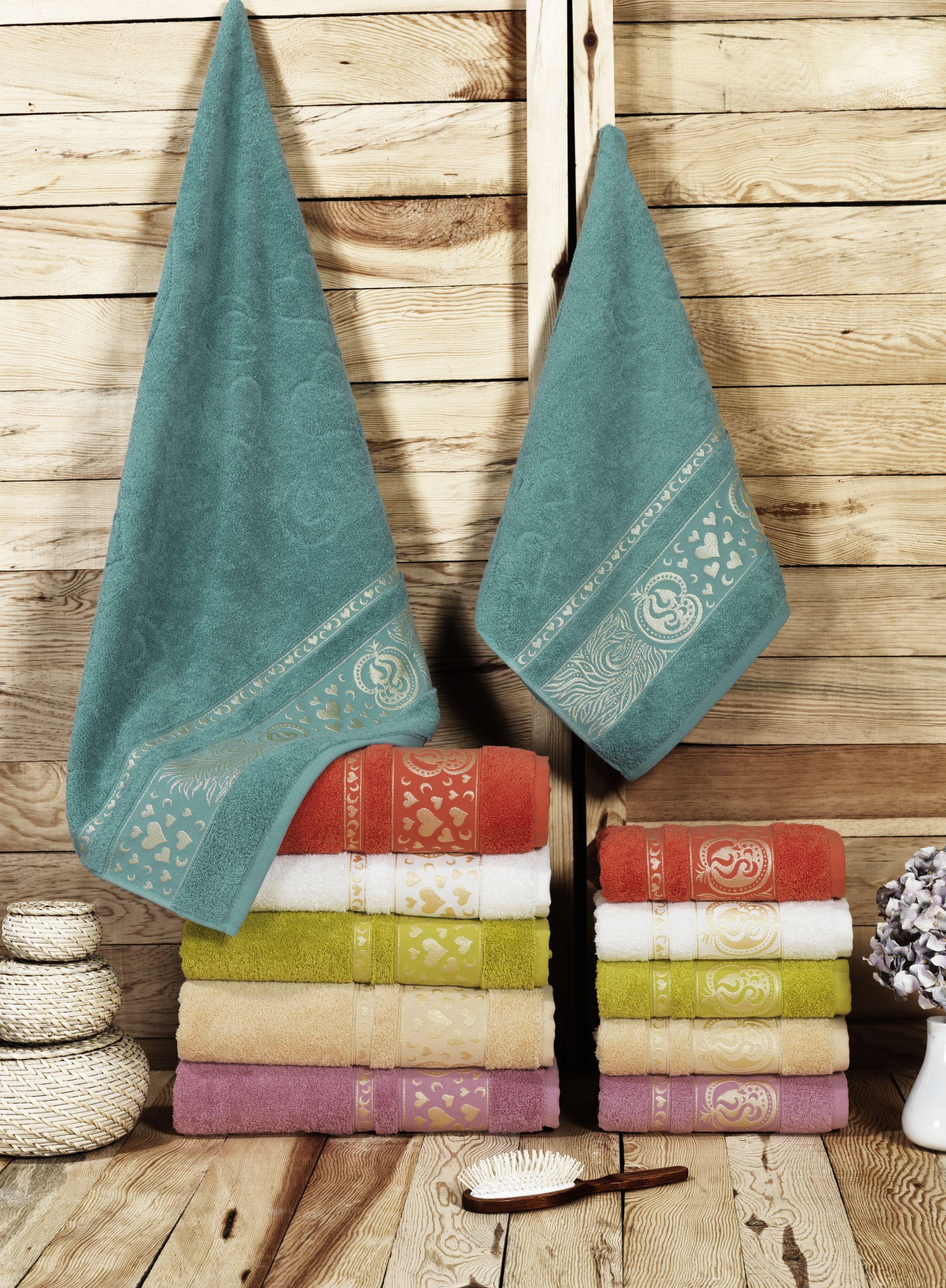 Полотенца Beautiful Rose Полотенце Melis (50х90 см - 6 шт) набор из 3 полотенец merzuka sakura 50х90 2 70х140 8432 терракотовый