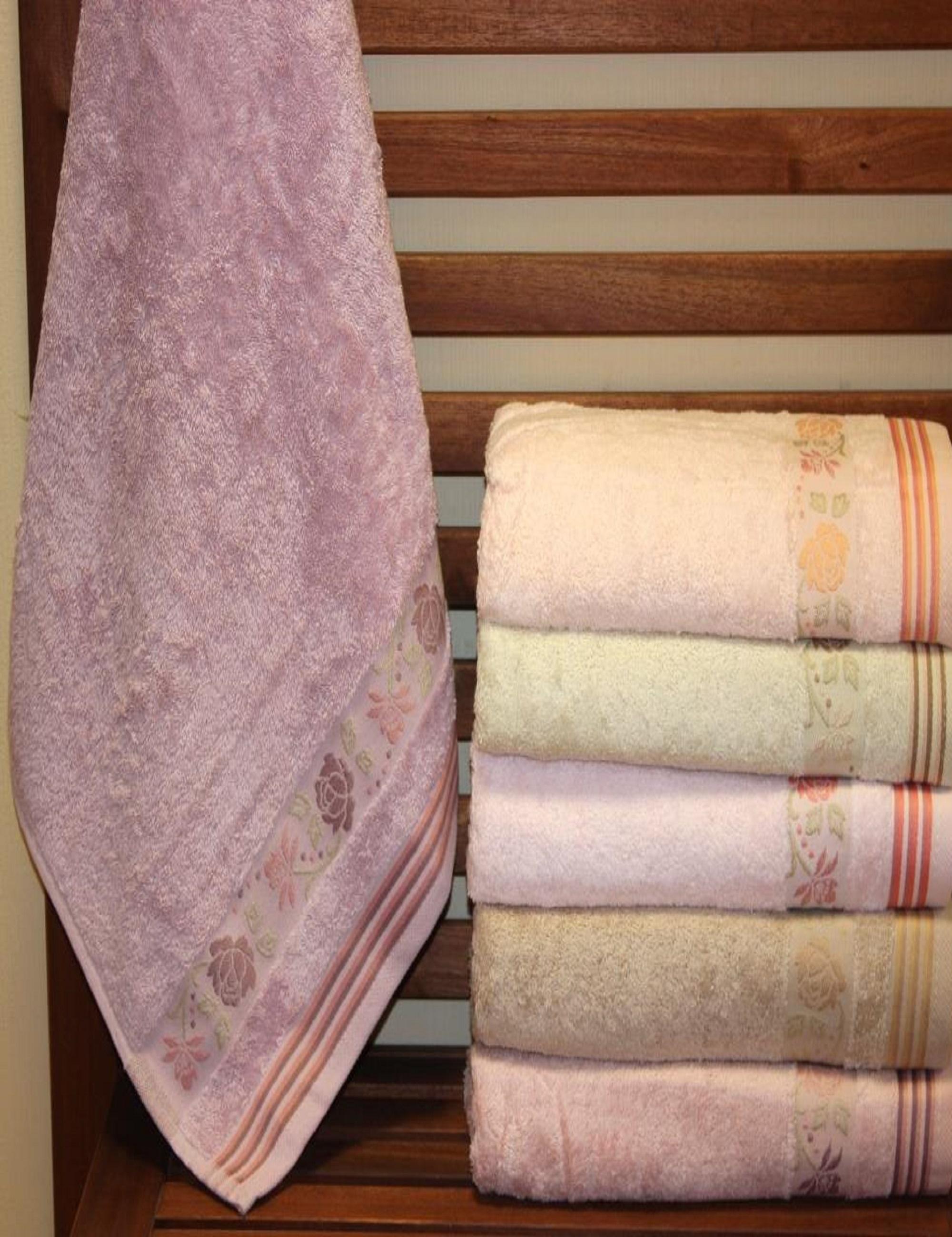 Полотенца Sikel Полотенце Bahar (70х140 см - 6 шт) sikel набор из 2 полотенец nazande цвет коричневый
