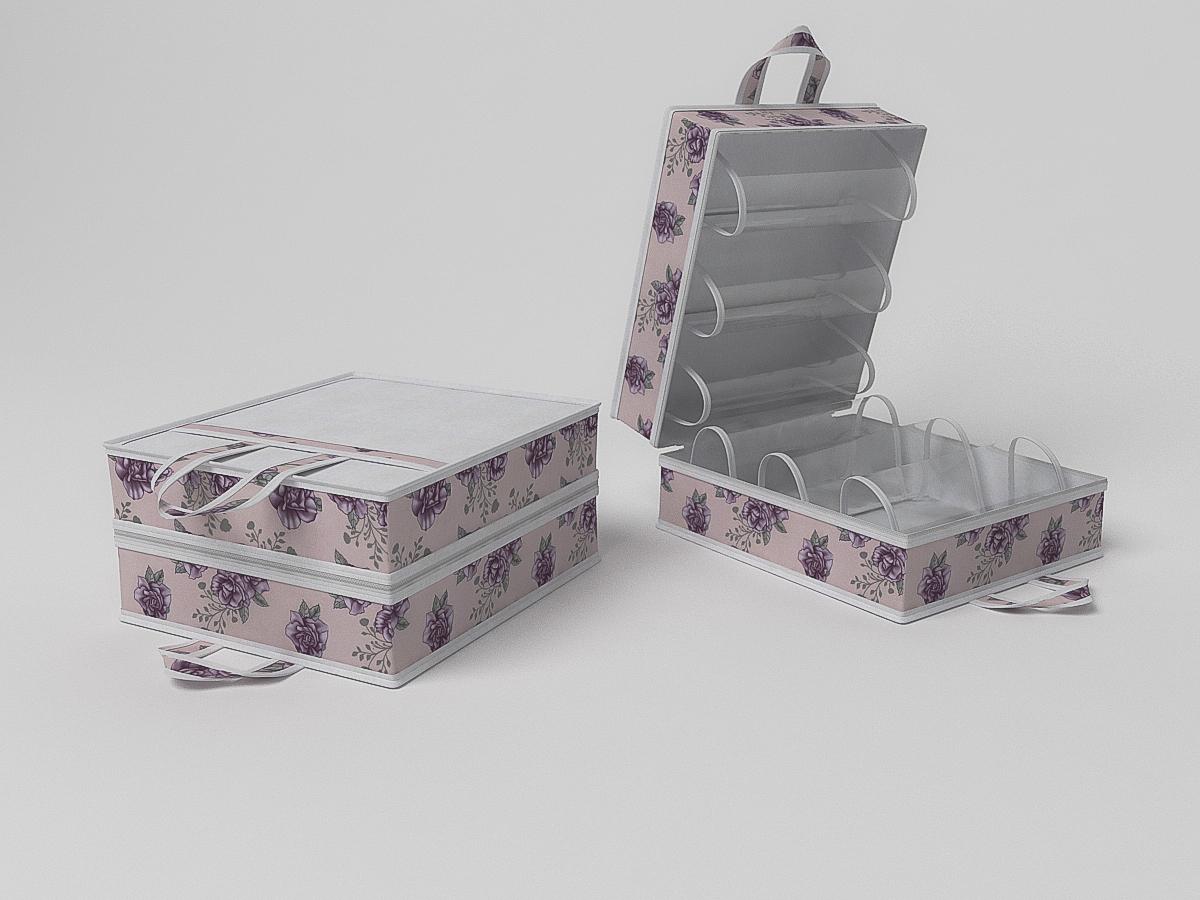 {} CoFreT Кофр для обуви Шебби Нью (20х35х40 см) чехлы для одежды cofret чехол для шапок шебби нью 116