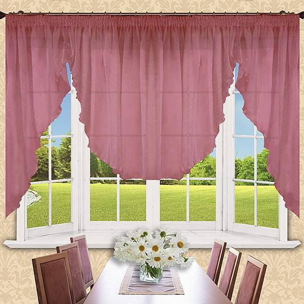 Шторы РеалТекс Классические шторы Alexis Цвет: Брусничный шторы primavera классические шторы maev цвет персиковый
