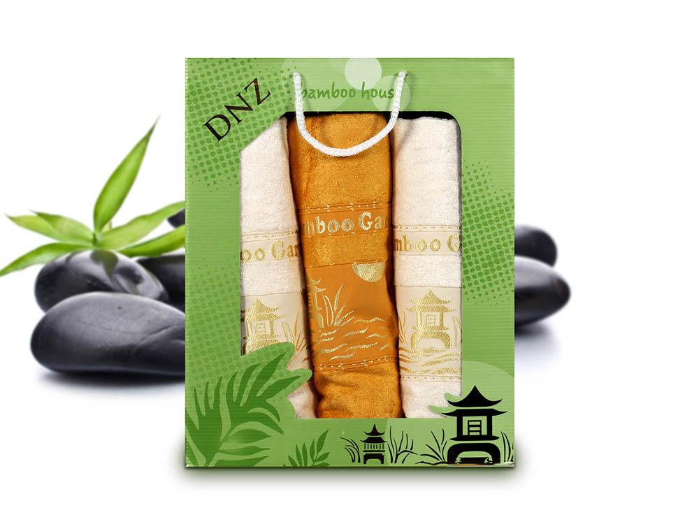 Полотенца Gulcan Полотенце Bamboo (Набор) набор из 3 полотенец merzuka sakura 50х90 2 70х140 8432 оранжевый