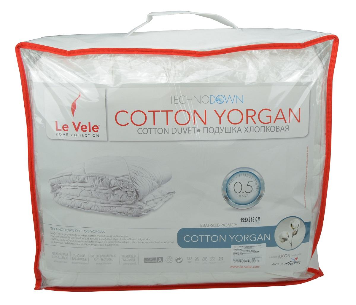 Одеяла Le Vele Одеяло Cotton Elite Всесезонное (195х215 см) одеяла penelope одеяло wooly 195х215 см