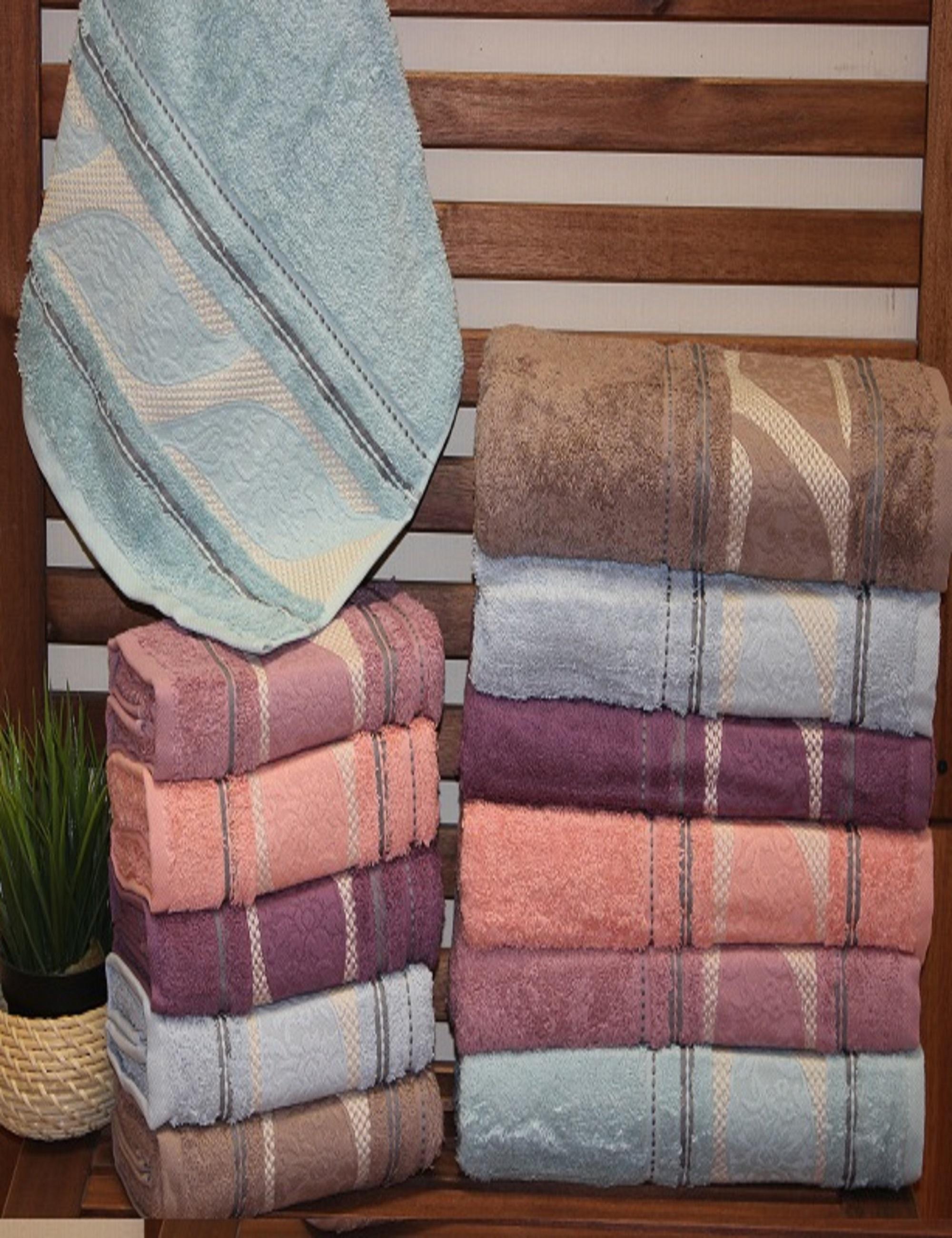 Полотенца Sikel Полотенце Ferzan (50х90 см - 6 шт) sikel набор из 2 полотенец nazande цвет коричневый