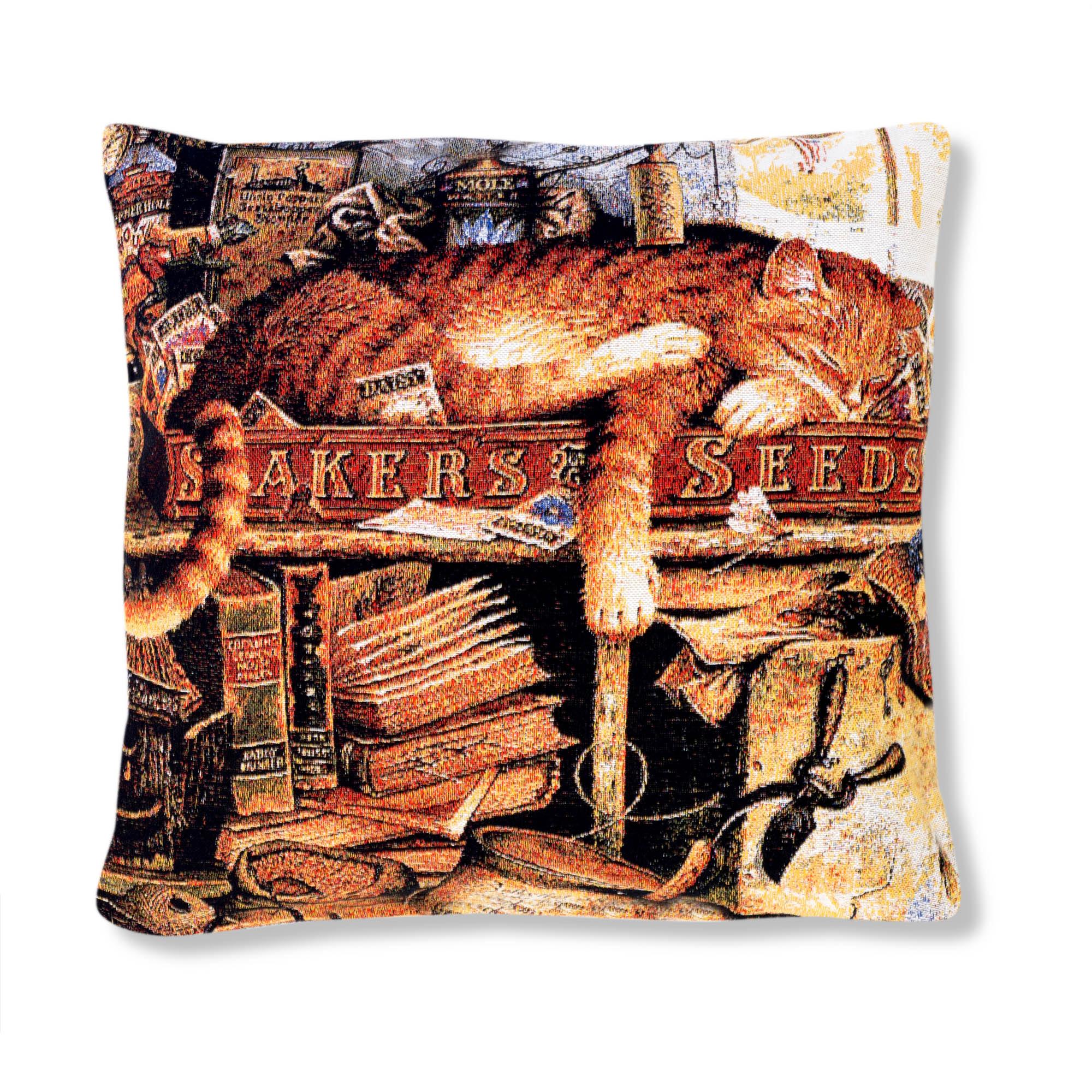 Декоративные подушки A La Gobelin Декоративная подушка Кот Рыбак (45х45) декоративные подушки оранжевый кот подушка игрушка медведь чистые погоны чистая совесть