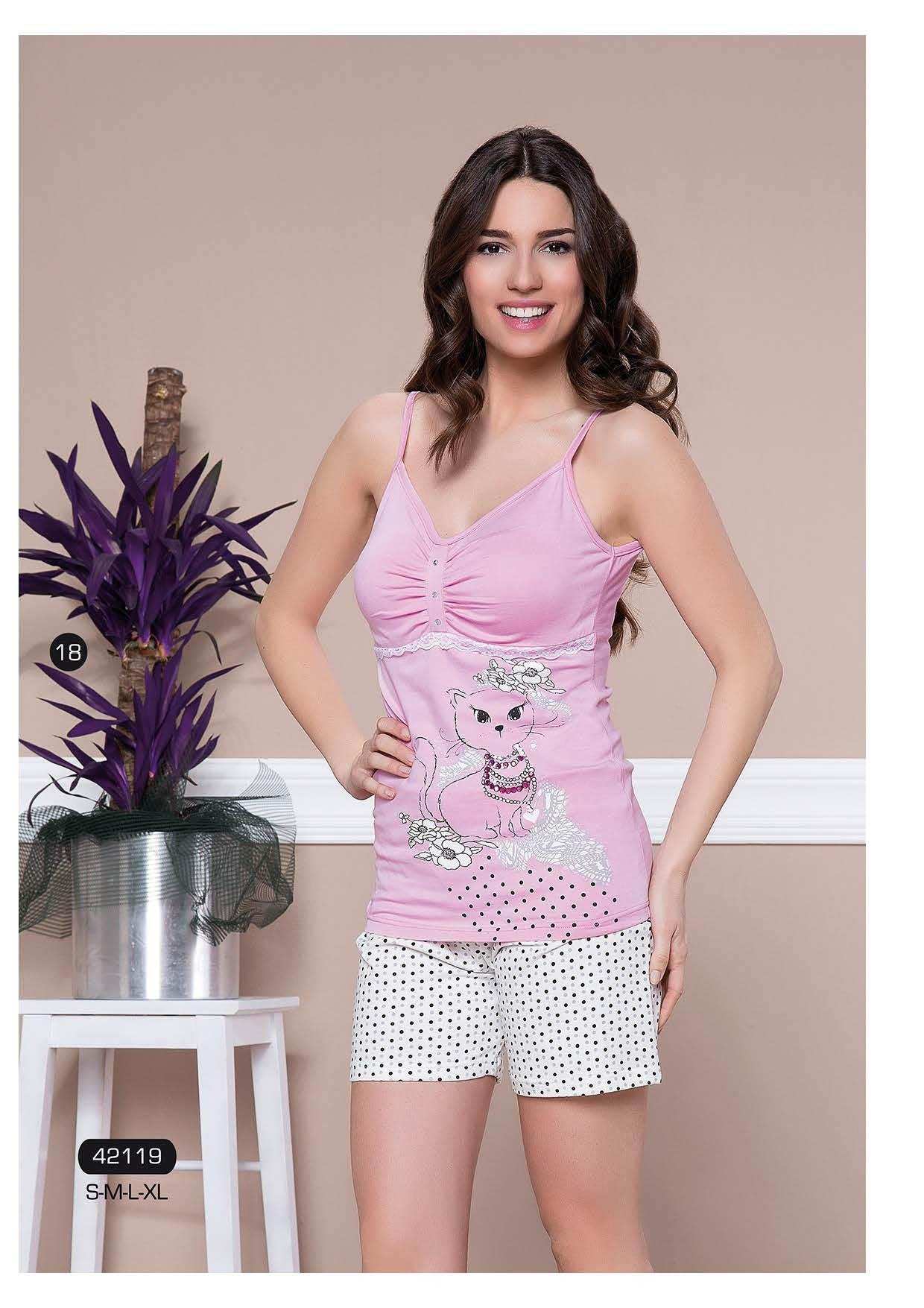 Пижамы Moyra Caprice Пижама Pisces  (S) пижама жен mia cara майка шорты botanical aw15 ubl lst 264 р 42 44 1119503